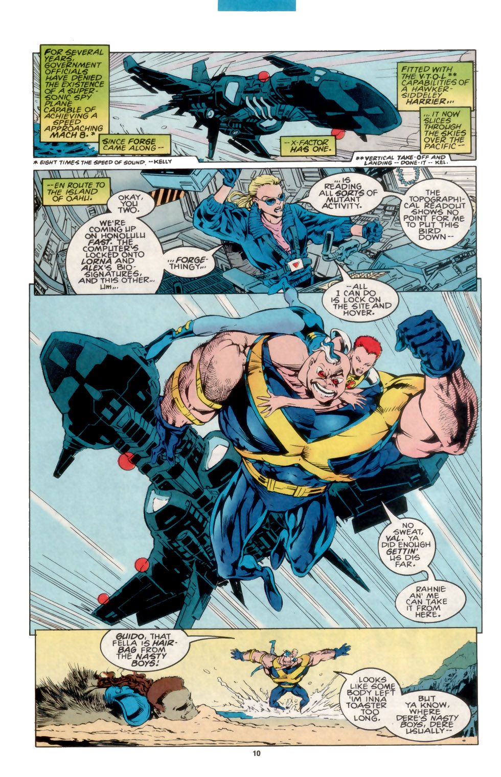 Read online X-Factor (1986) comic -  Issue #105 - 8