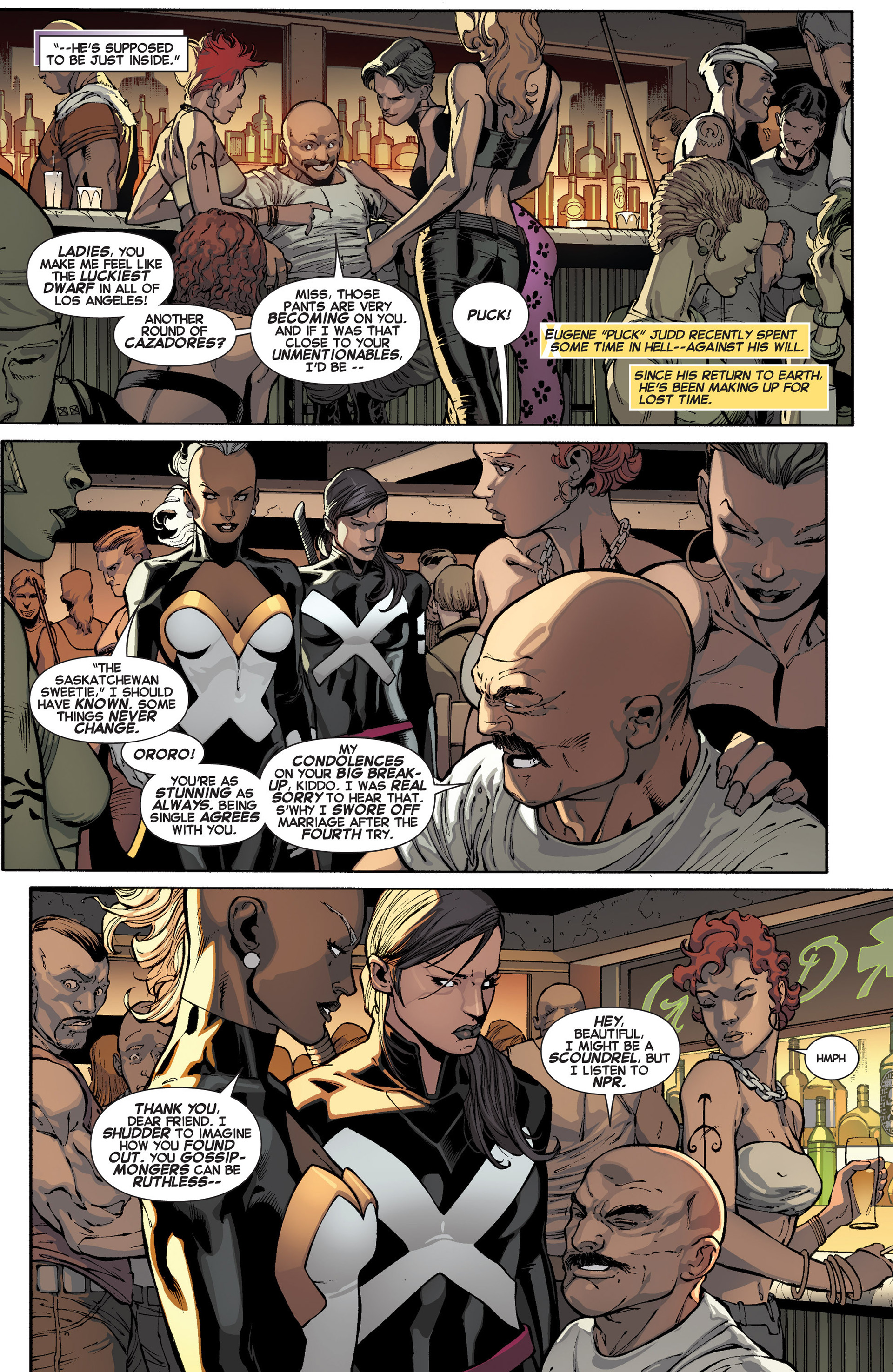 Read online Uncanny X-Force (2013) comic -  Issue #1 - 9