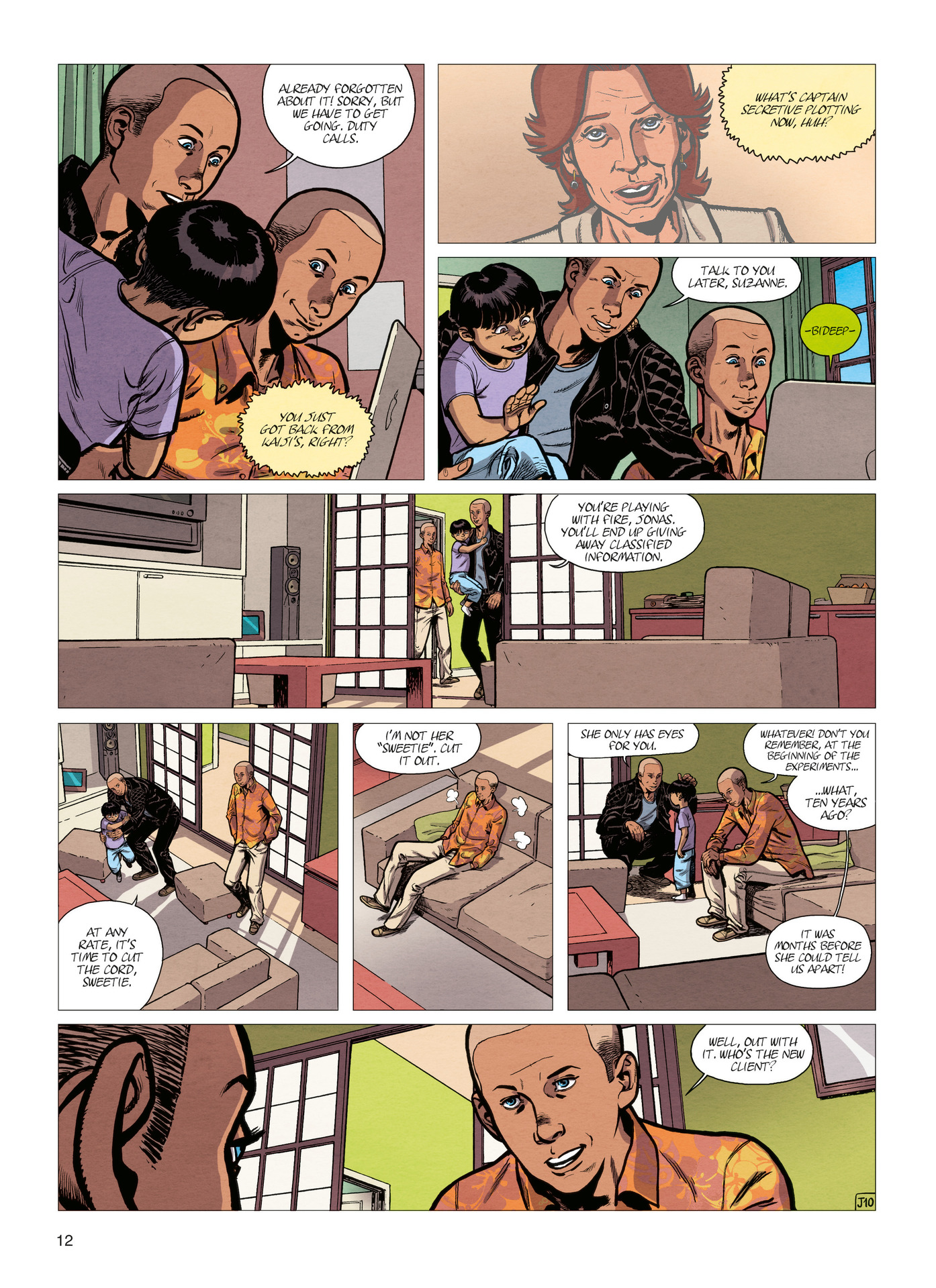 Read online Alter Ego comic -  Issue #4 - 14