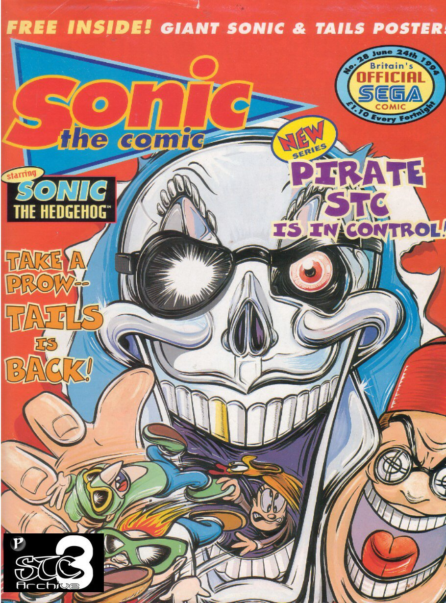 Read online Sonic the Comic comic -  Issue #28 - 1