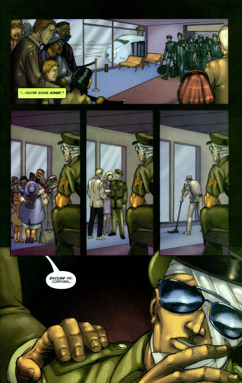 Read online Snake Eyes: Declassified comic -  Issue #1 - 22