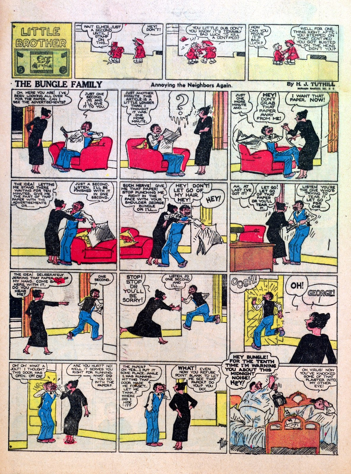 Read online Famous Funnies comic -  Issue #7 - 58
