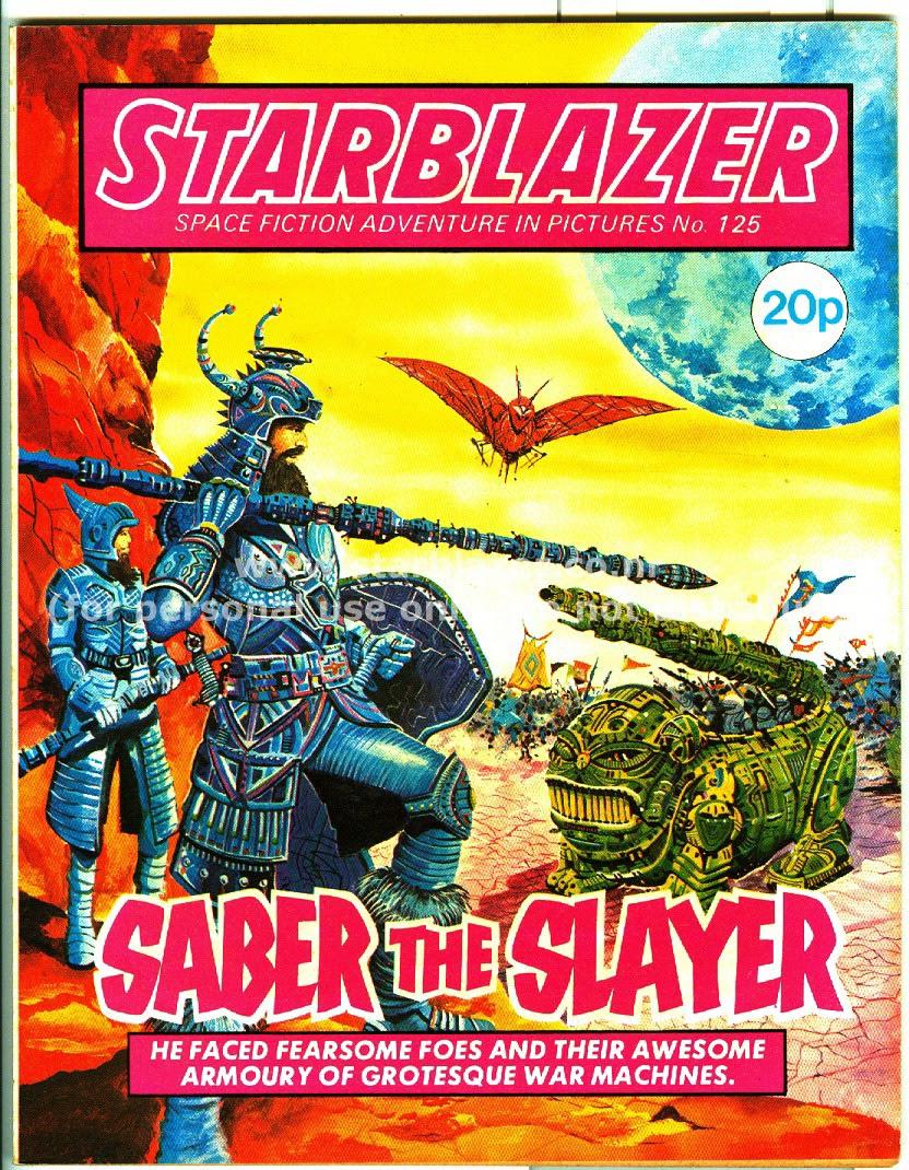 Starblazer issue 125 - Page 1