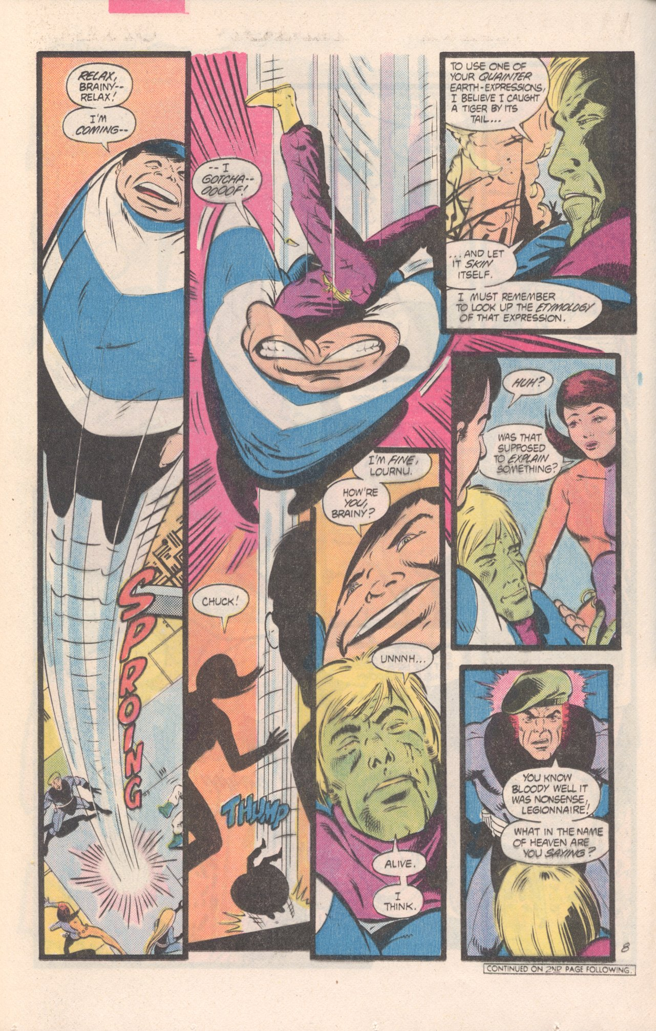 Legion of Super-Heroes (1980) 311 Page 8