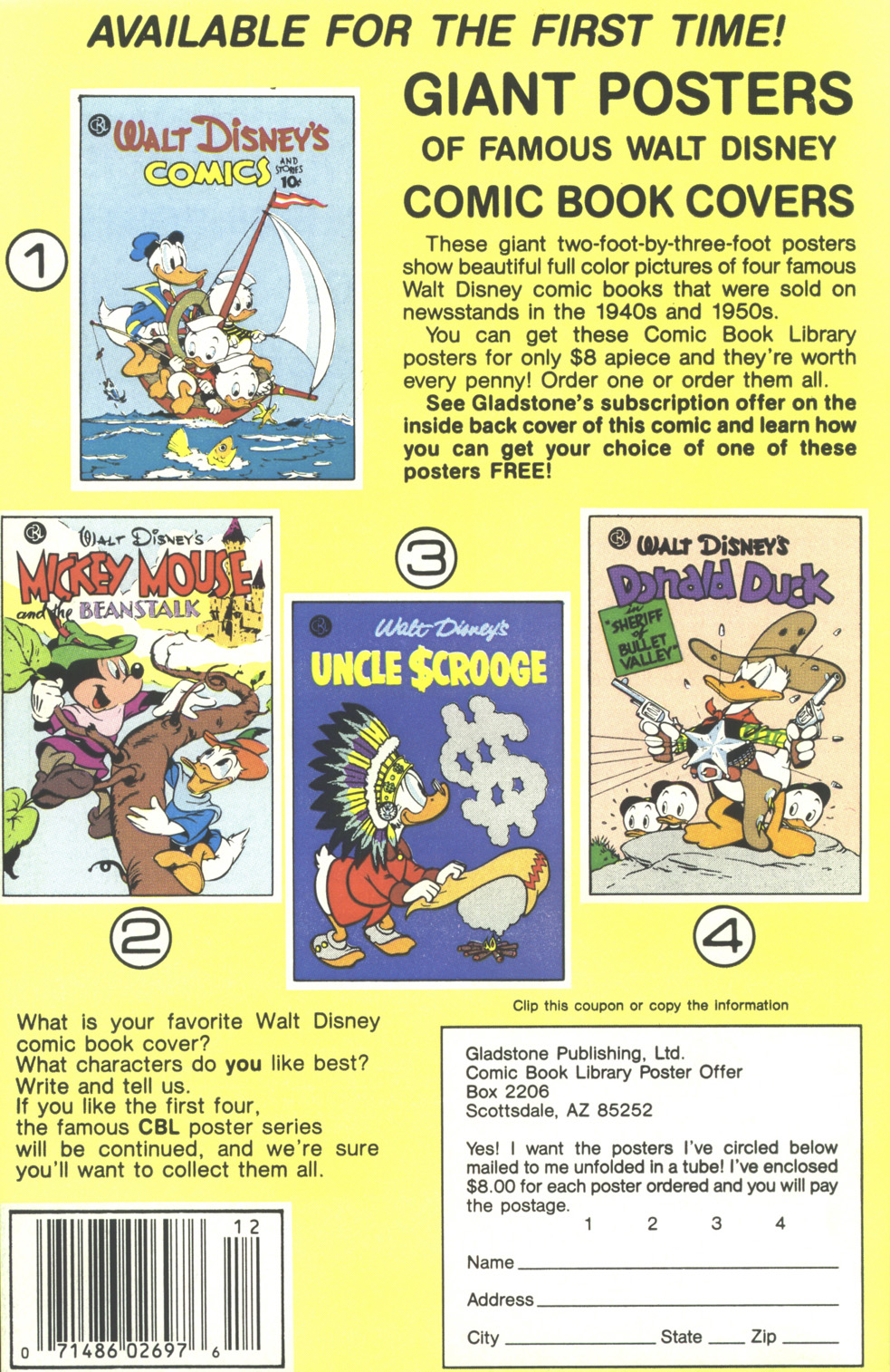 Walt Disney's Donald Duck (1986) issue 248 - Page 36