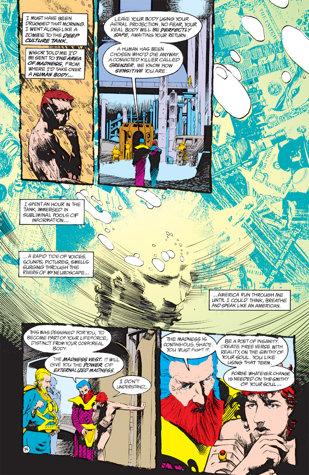 Read online Shade, the Changing Man comic -  Issue #4 - 16