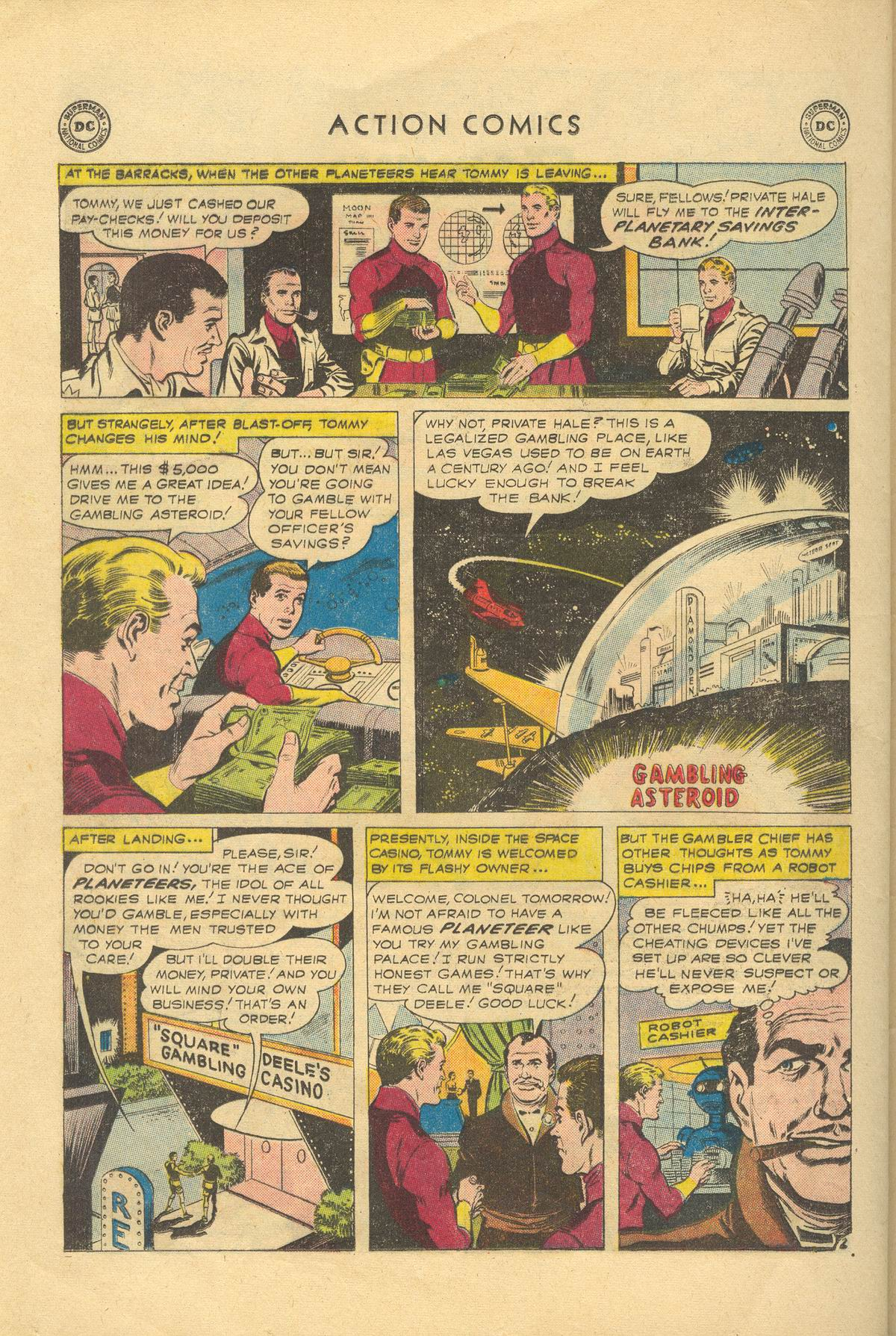 Read online Action Comics (1938) comic -  Issue #249 - 28