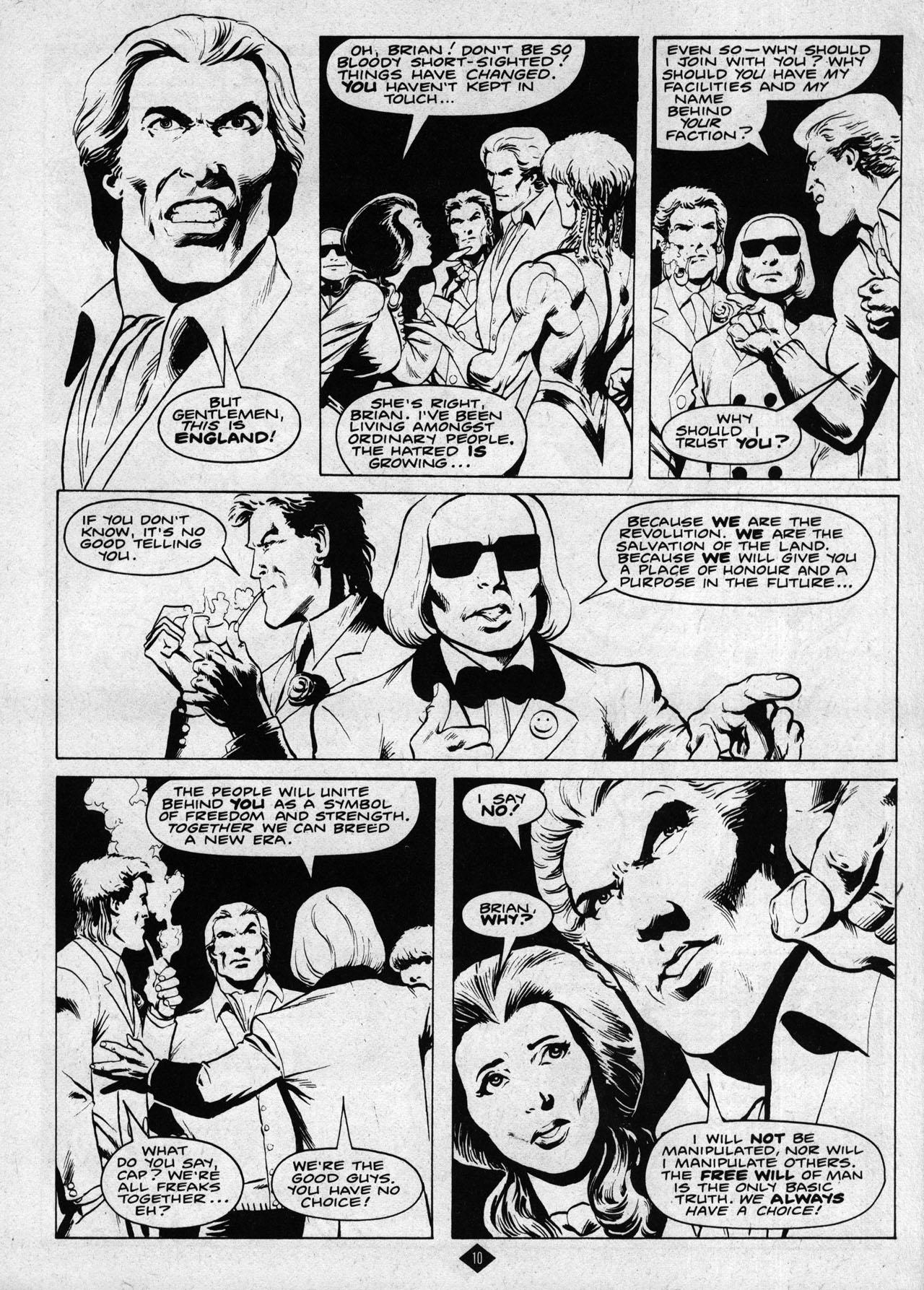 Captain Britain (1985) 8 Page 10