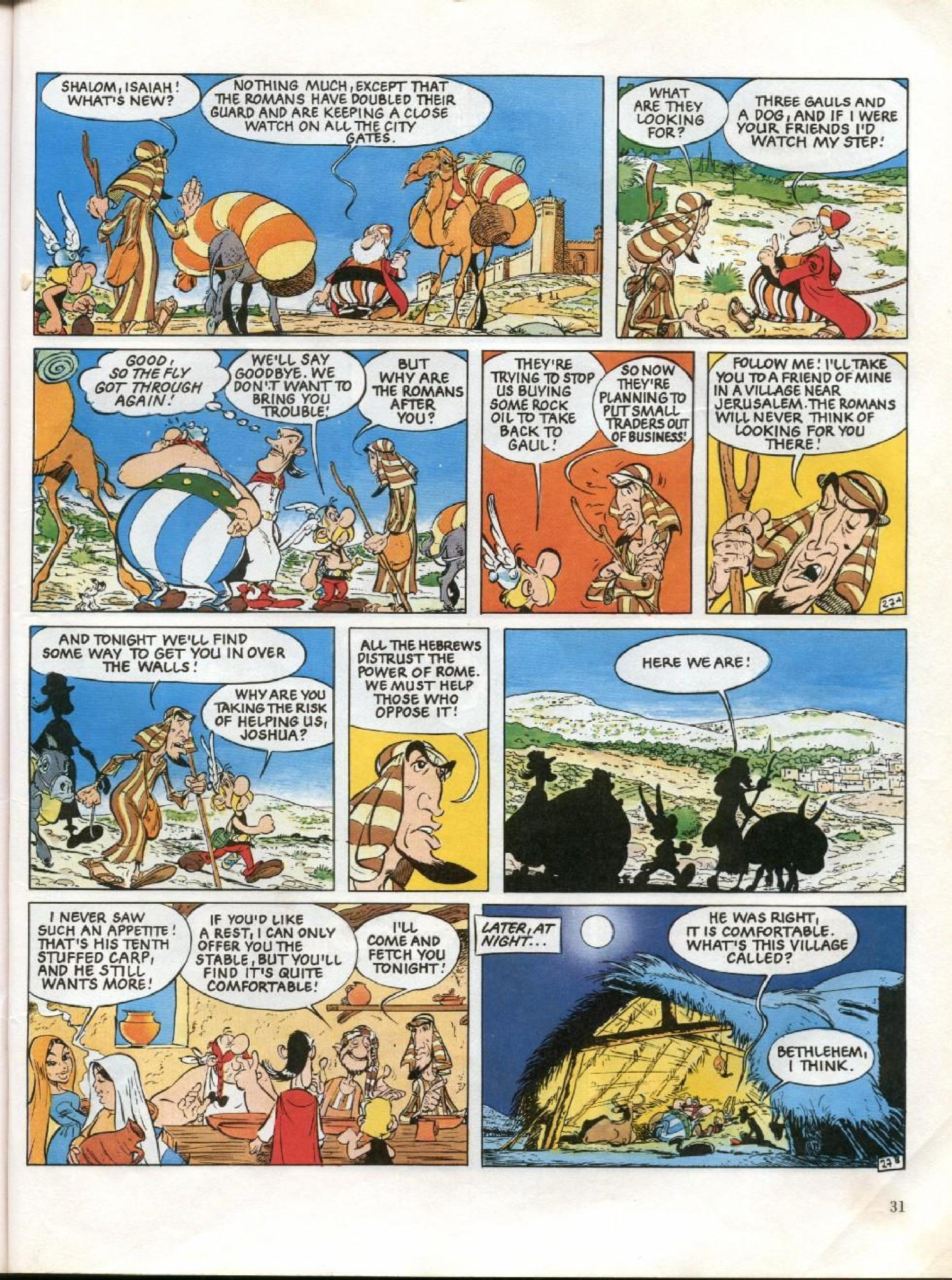 Read online Asterix comic -  Issue #26 - 28