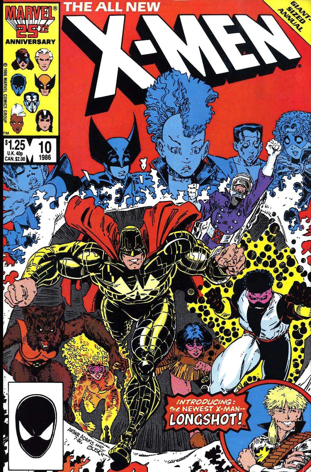 X-Men Annual 10 Page 1