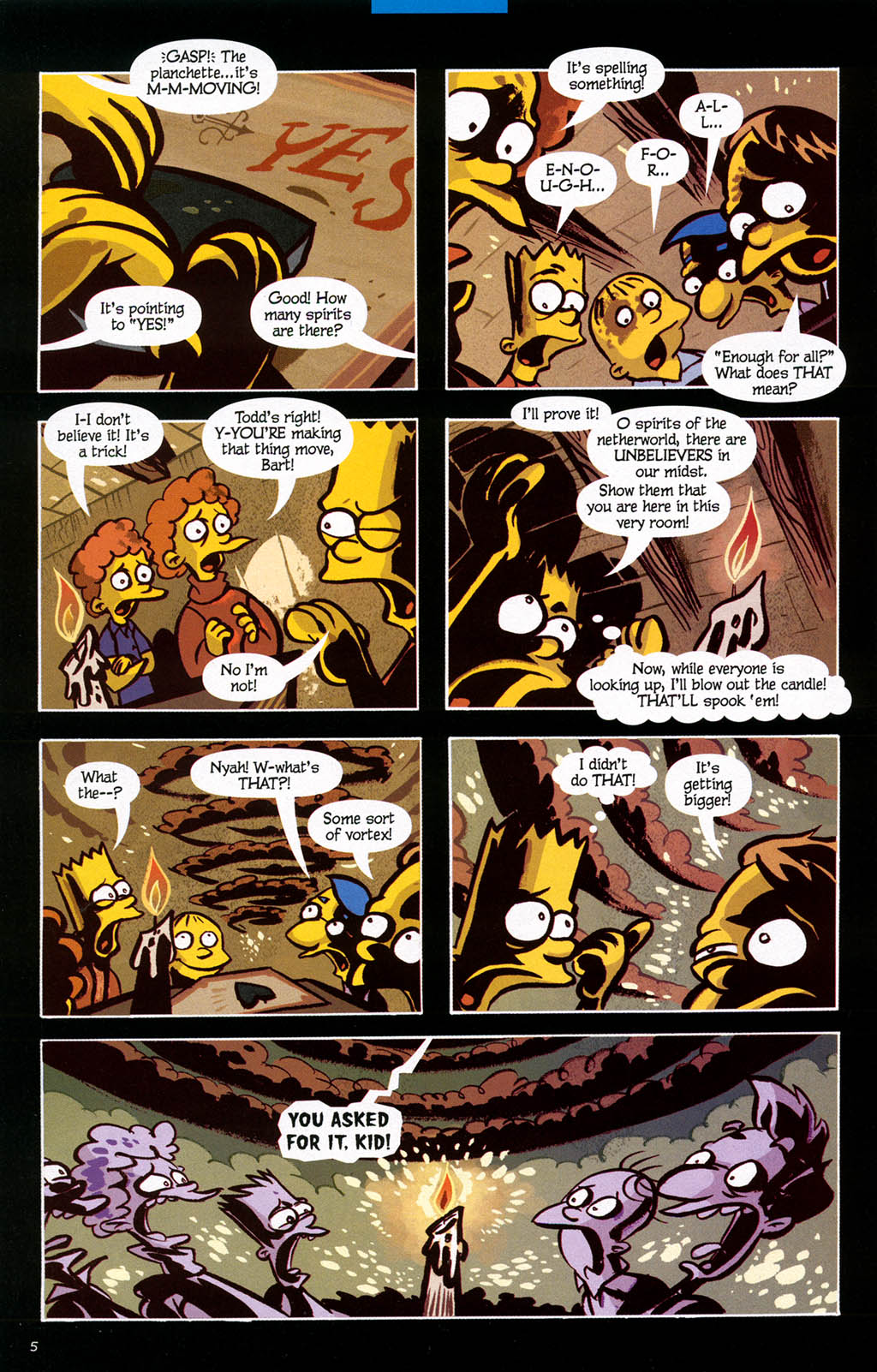 Read online Treehouse of Horror comic -  Issue #10 - 45