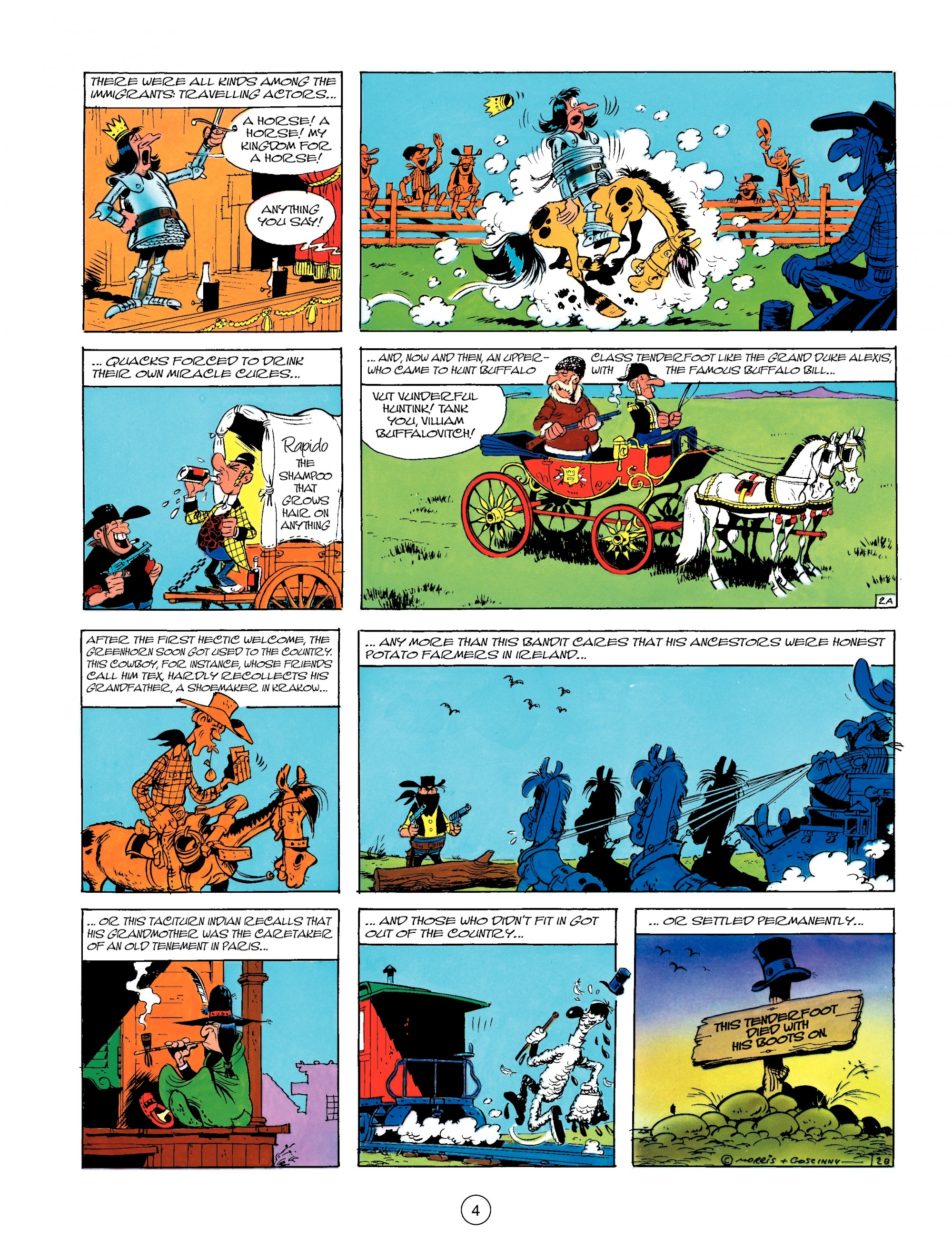 Read online A Lucky Luke Adventure comic -  Issue #13 - 4