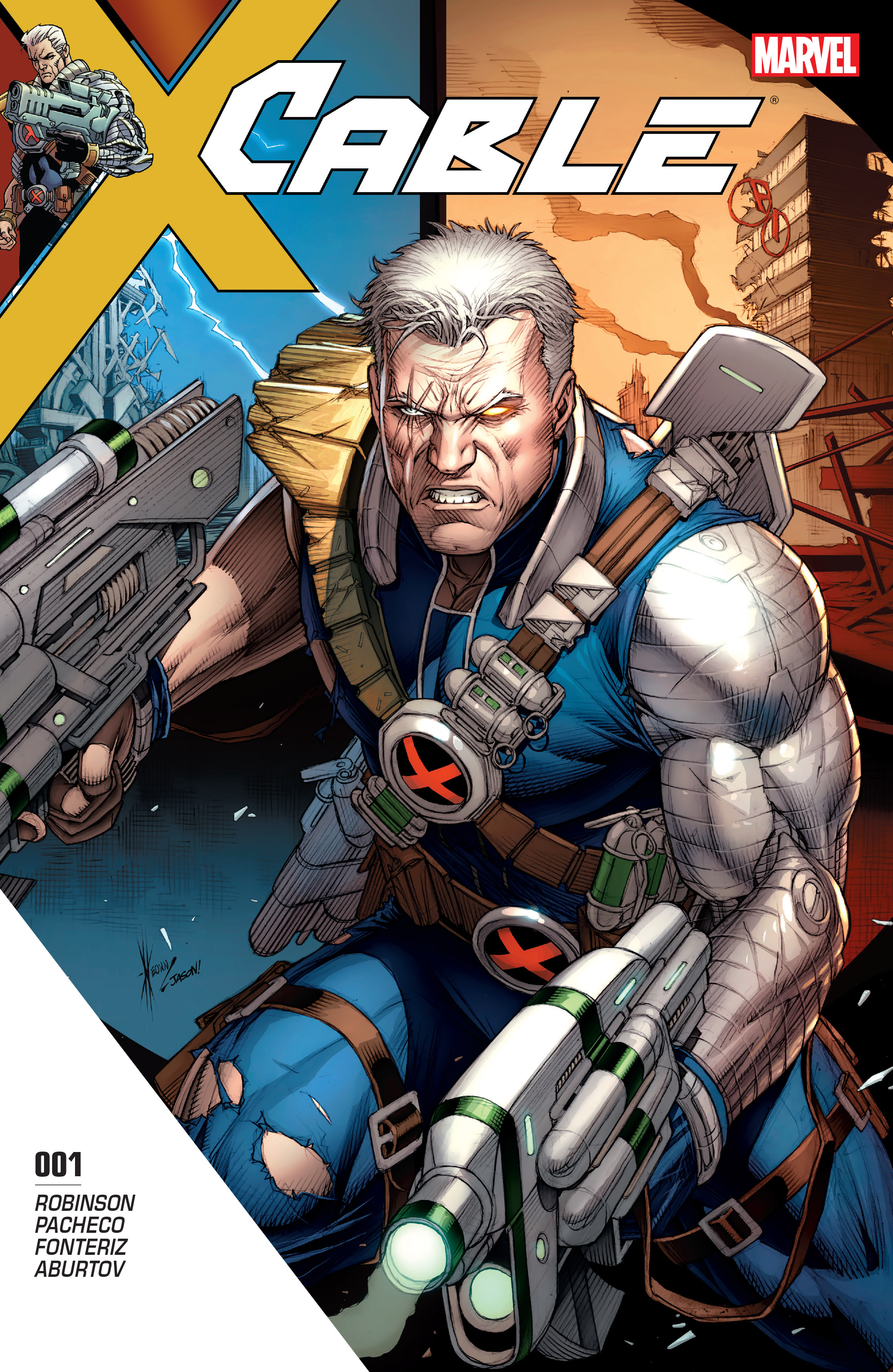 Read online Cable (2017) comic -  Issue #1 - 1