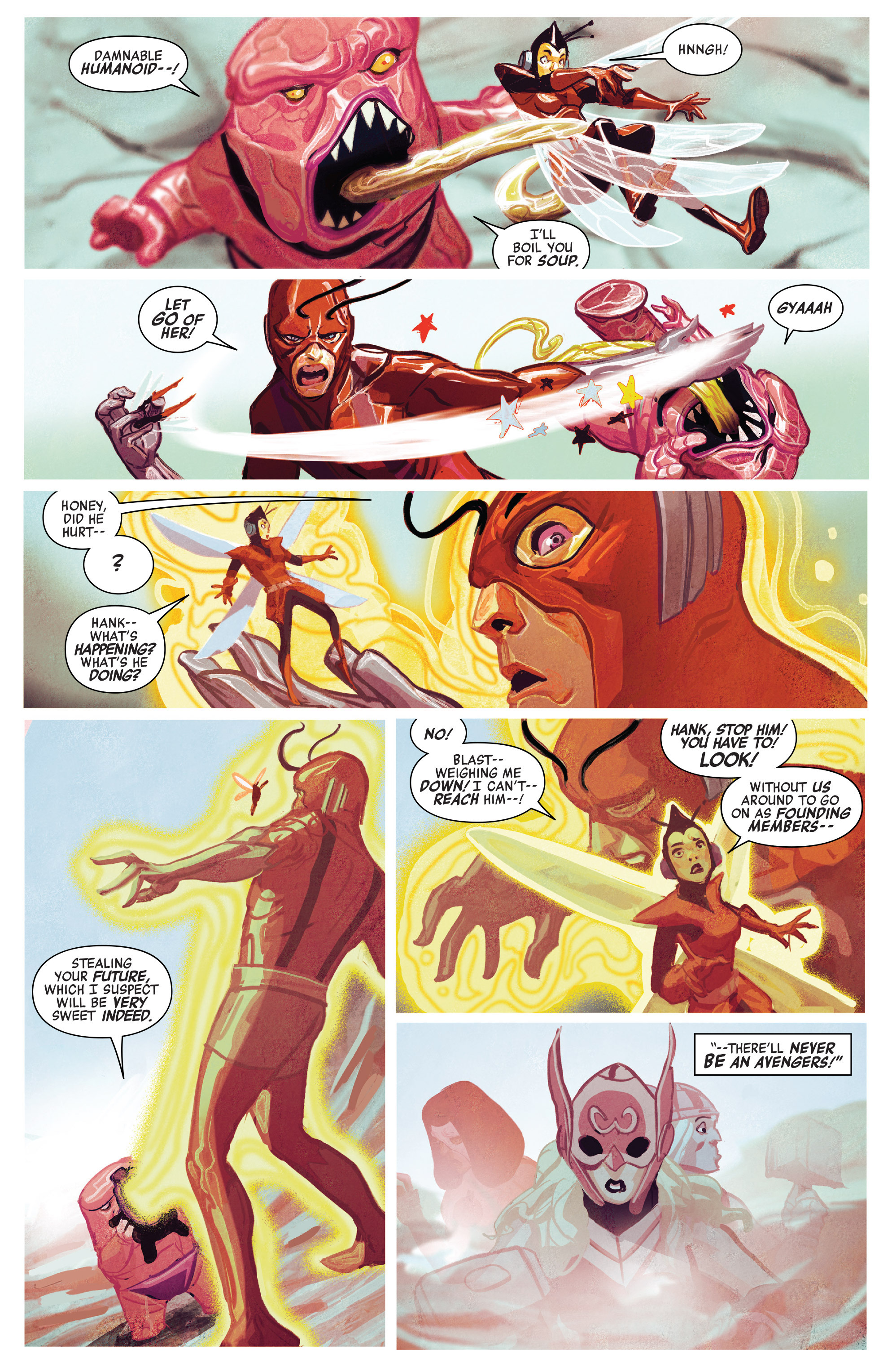 Read online Avengers (2016) comic -  Issue #5 - 20