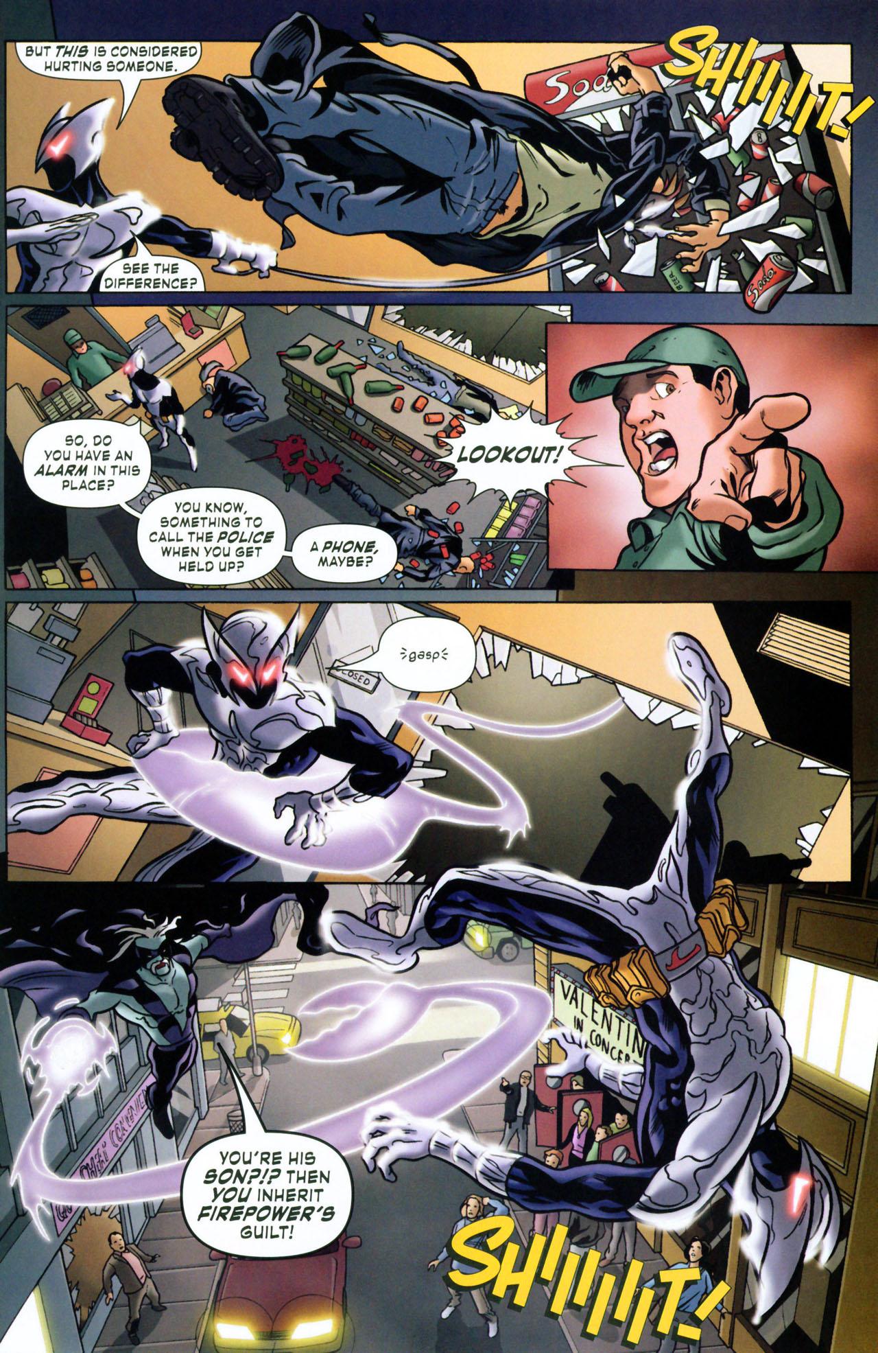 Read online ShadowHawk (2005) comic -  Issue #1 - 21