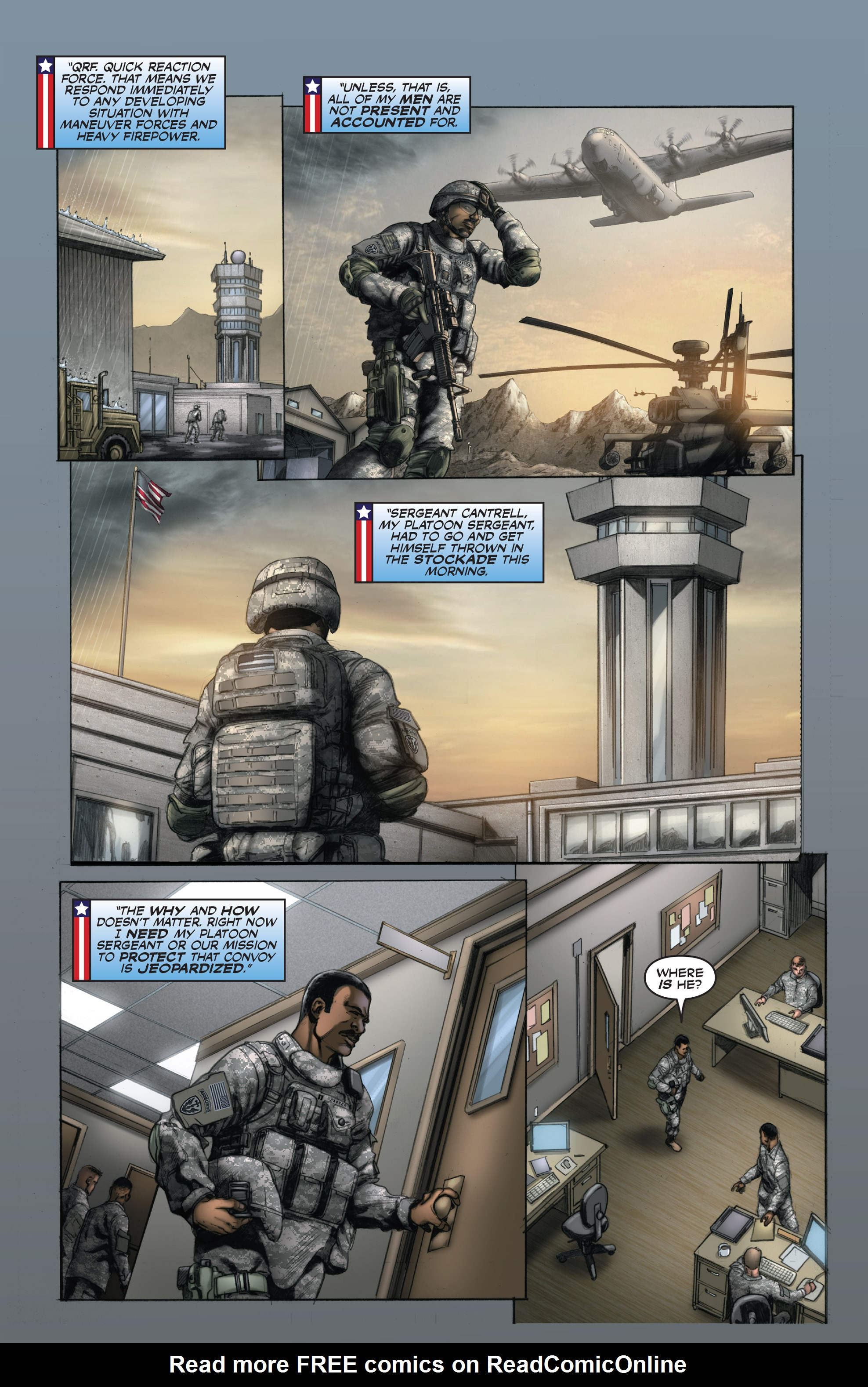 Read online America's Army comic -  Issue #15 - 3