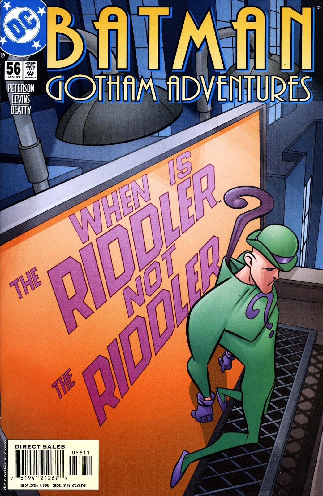 Batman: Gotham Adventures issue 56 - Page 1