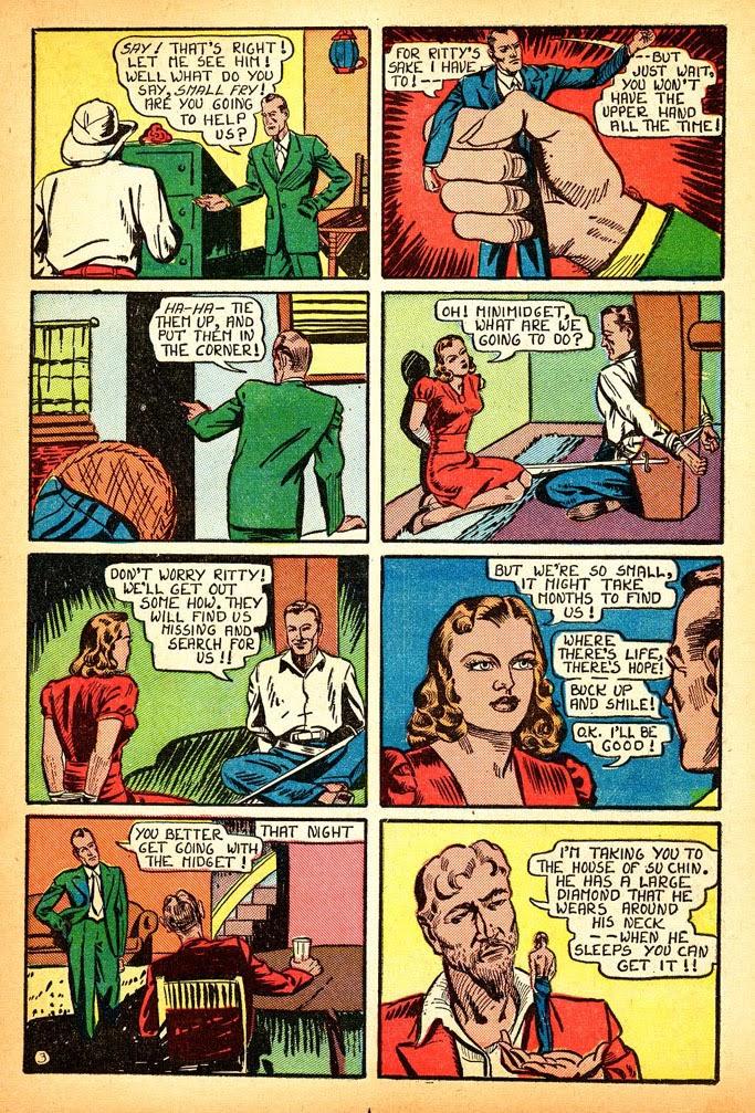 Read online Amazing Man Comics comic -  Issue #12 - 21