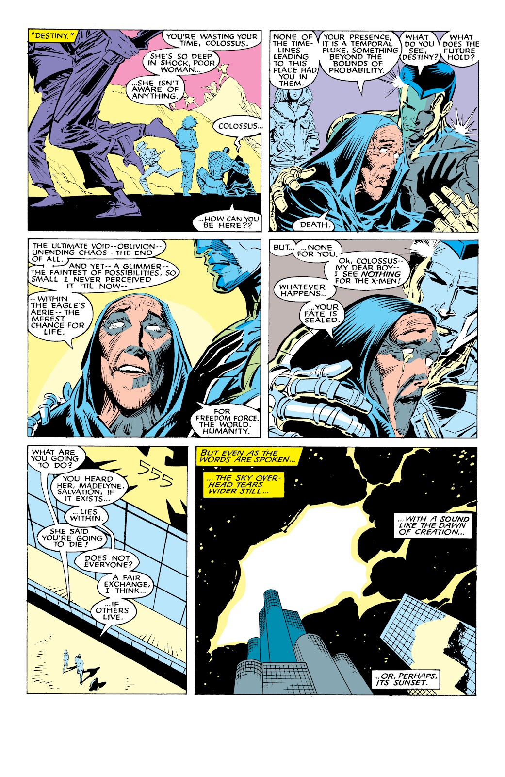Read online X-Men Milestones: Fall of the Mutants comic -  Issue # TPB (Part 1) - 53