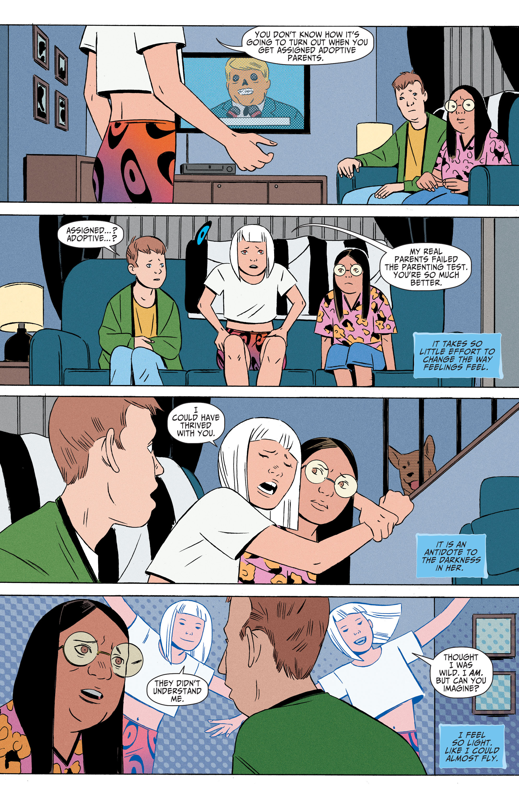 Read online Shade, the Changing Girl comic -  Issue #4 - 20
