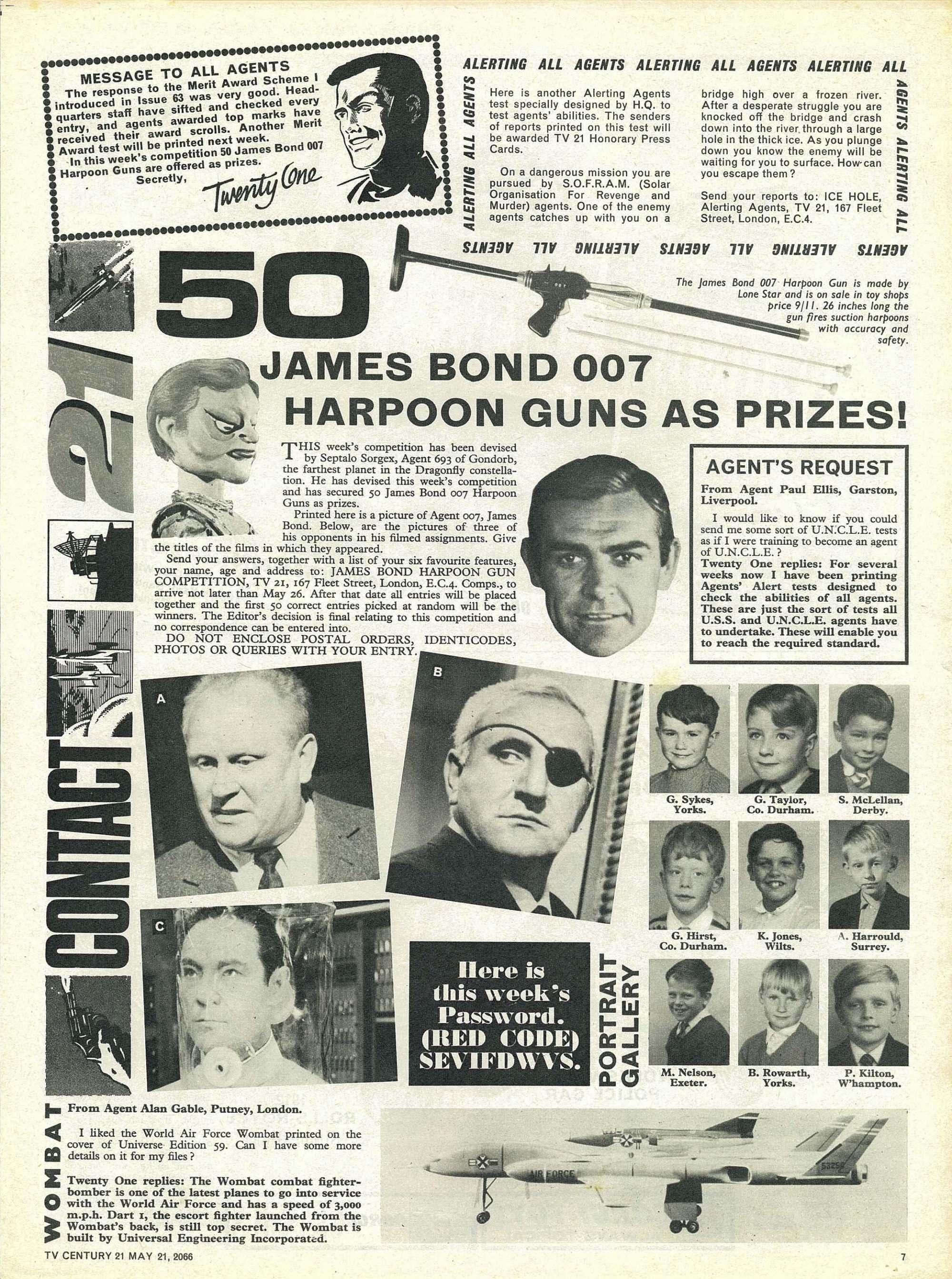 Read online TV Century 21 (TV 21) comic -  Issue #70 - 7
