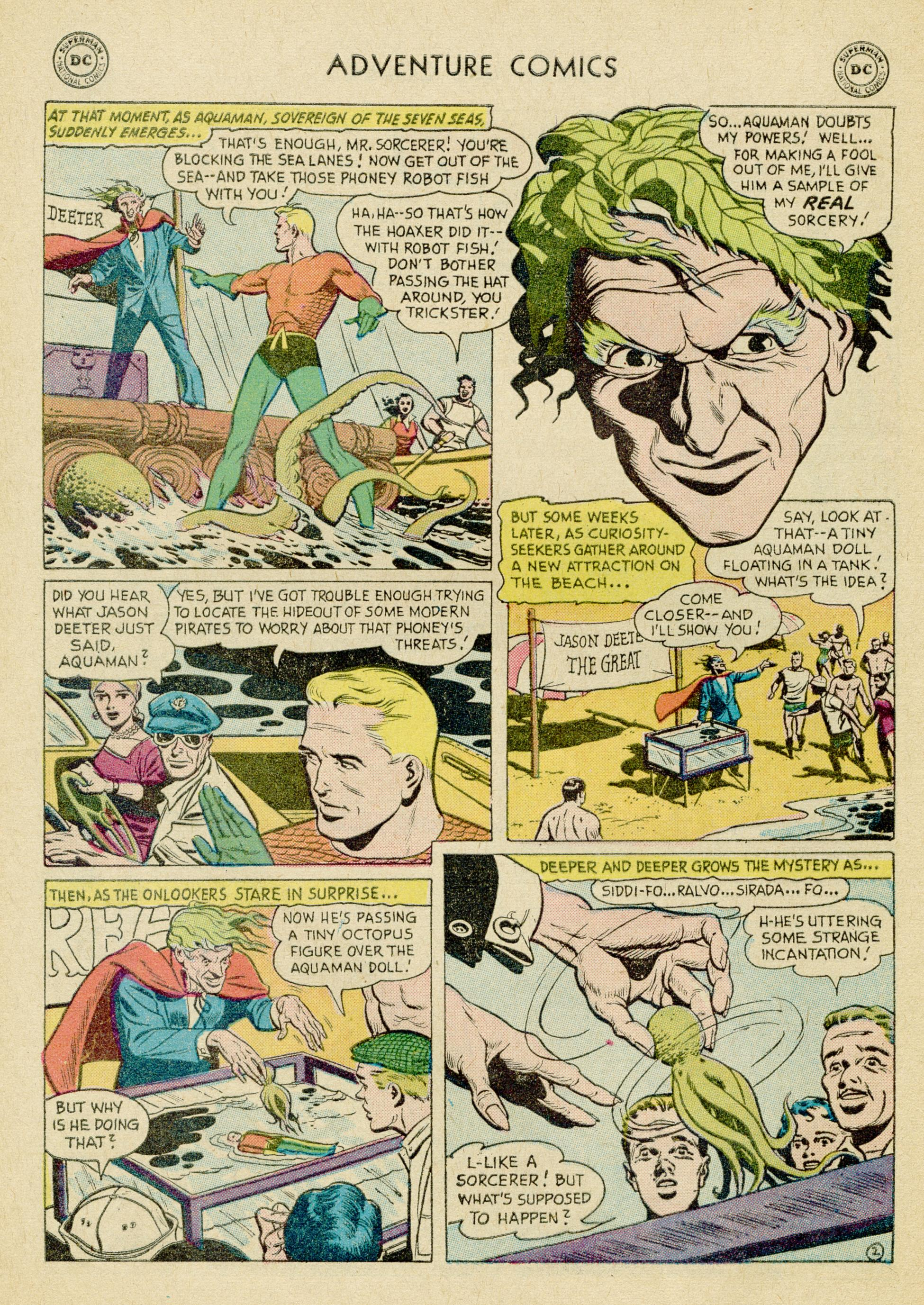 Read online Adventure Comics (1938) comic -  Issue #245 - 28
