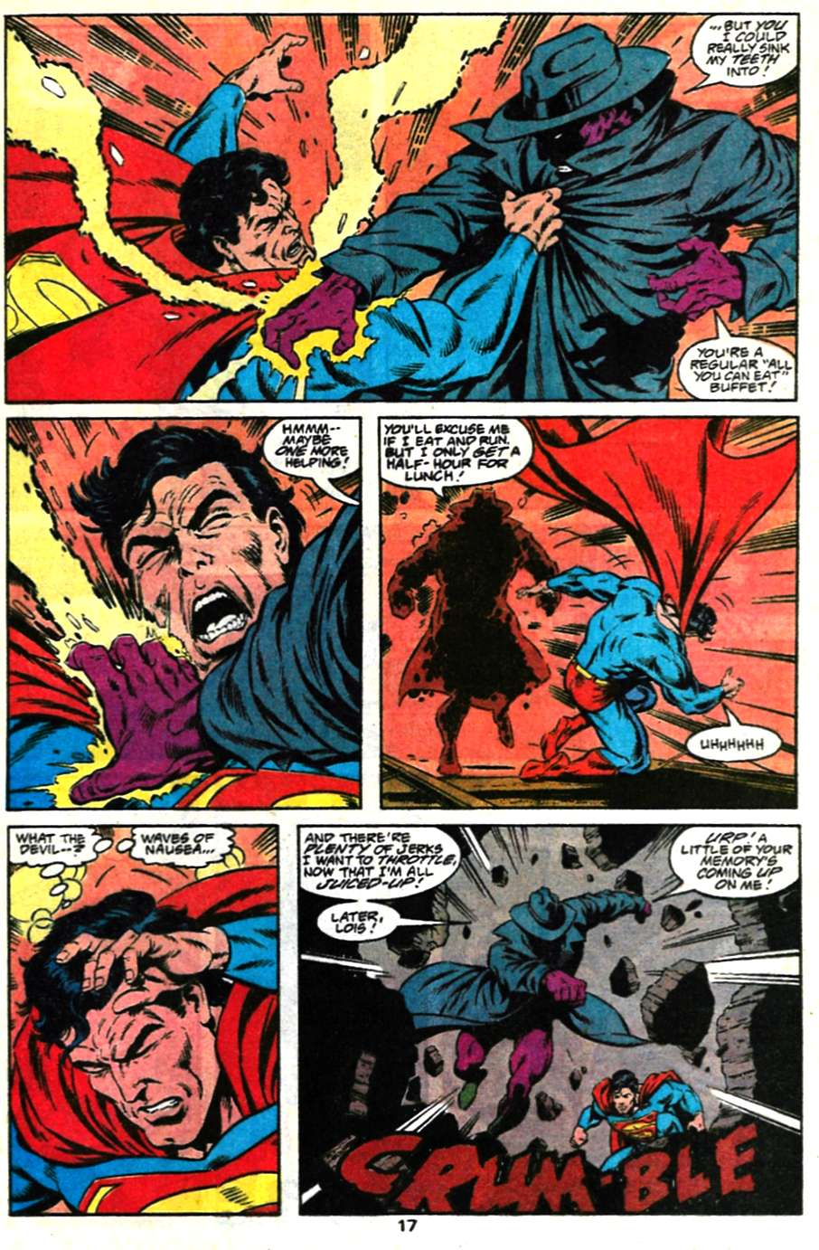 Read online Adventures of Superman (1987) comic -  Issue #481 - 18