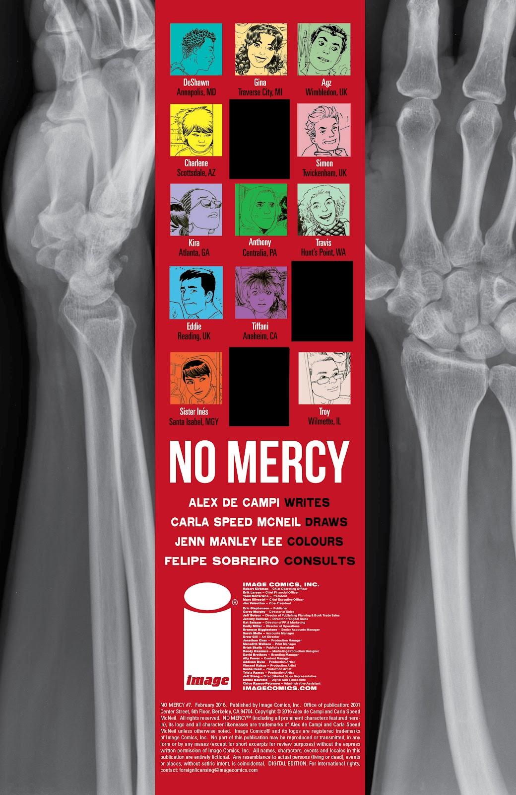 No Mercy Issue #7 #7 - English 2