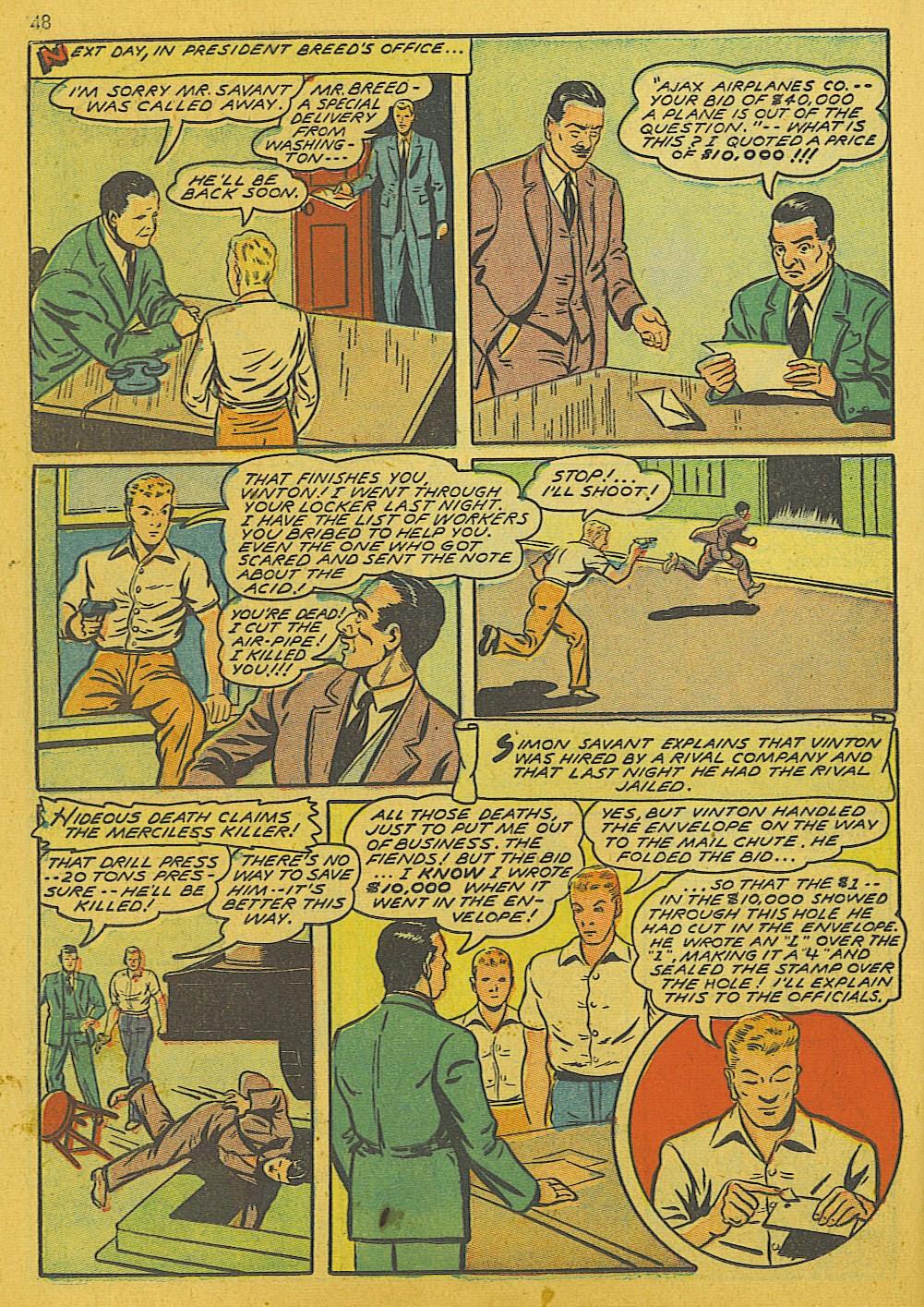 Read online Super-Magician Comics comic -  Issue #10 - 48