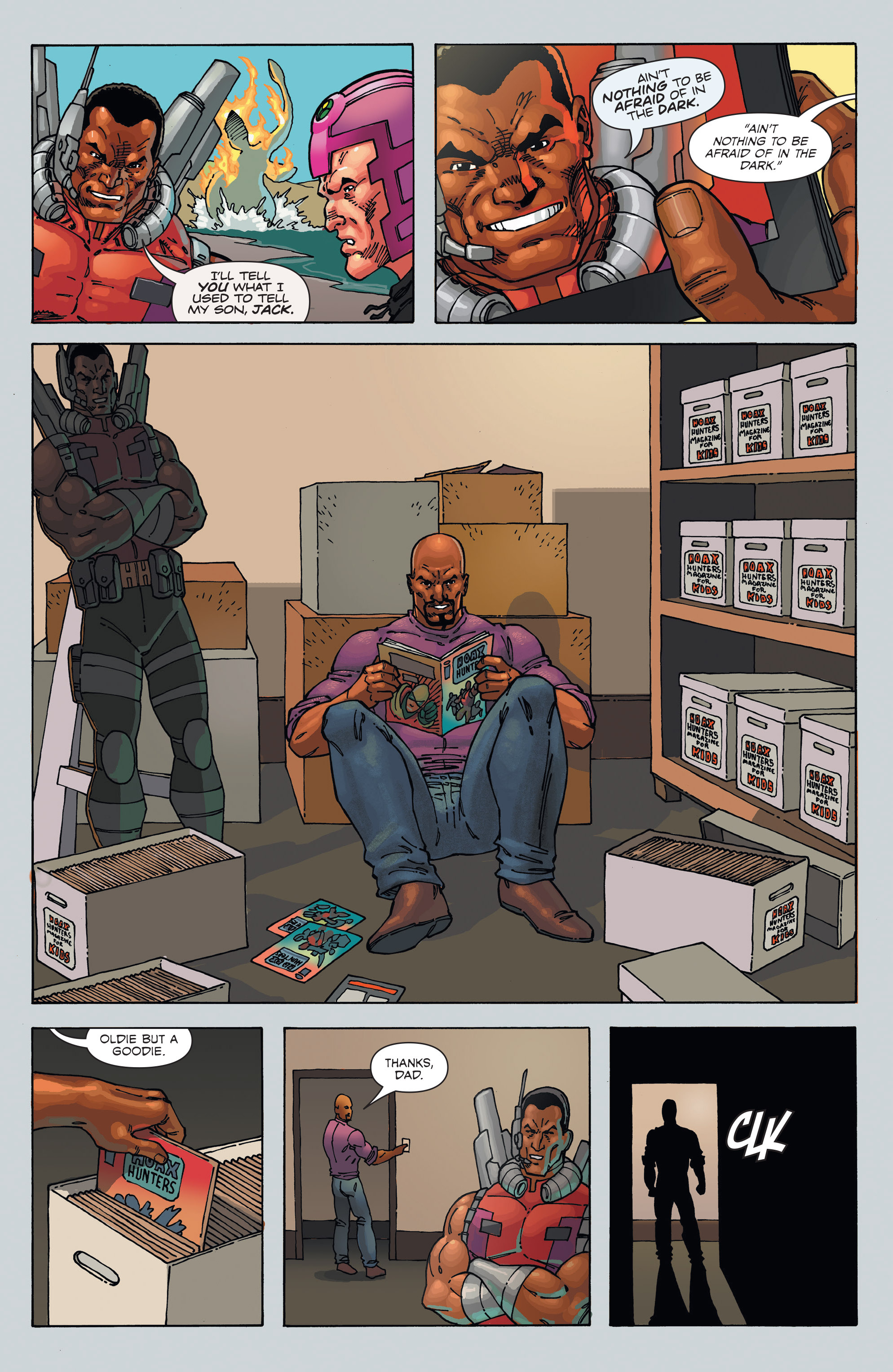Read online Hoax Hunters (2012) comic -  Issue # TPB 3 - 106