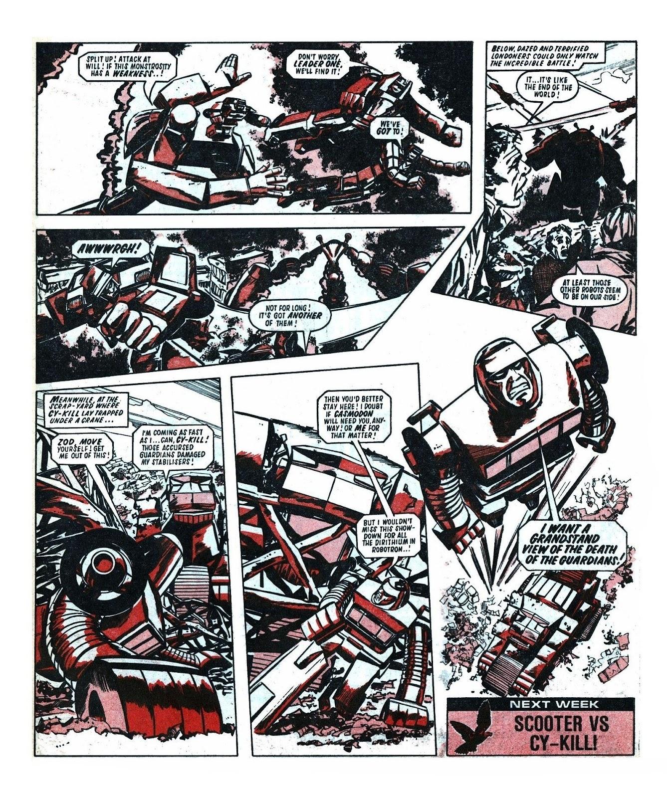 Read online Robo Machines comic -  Issue # TPB - 102