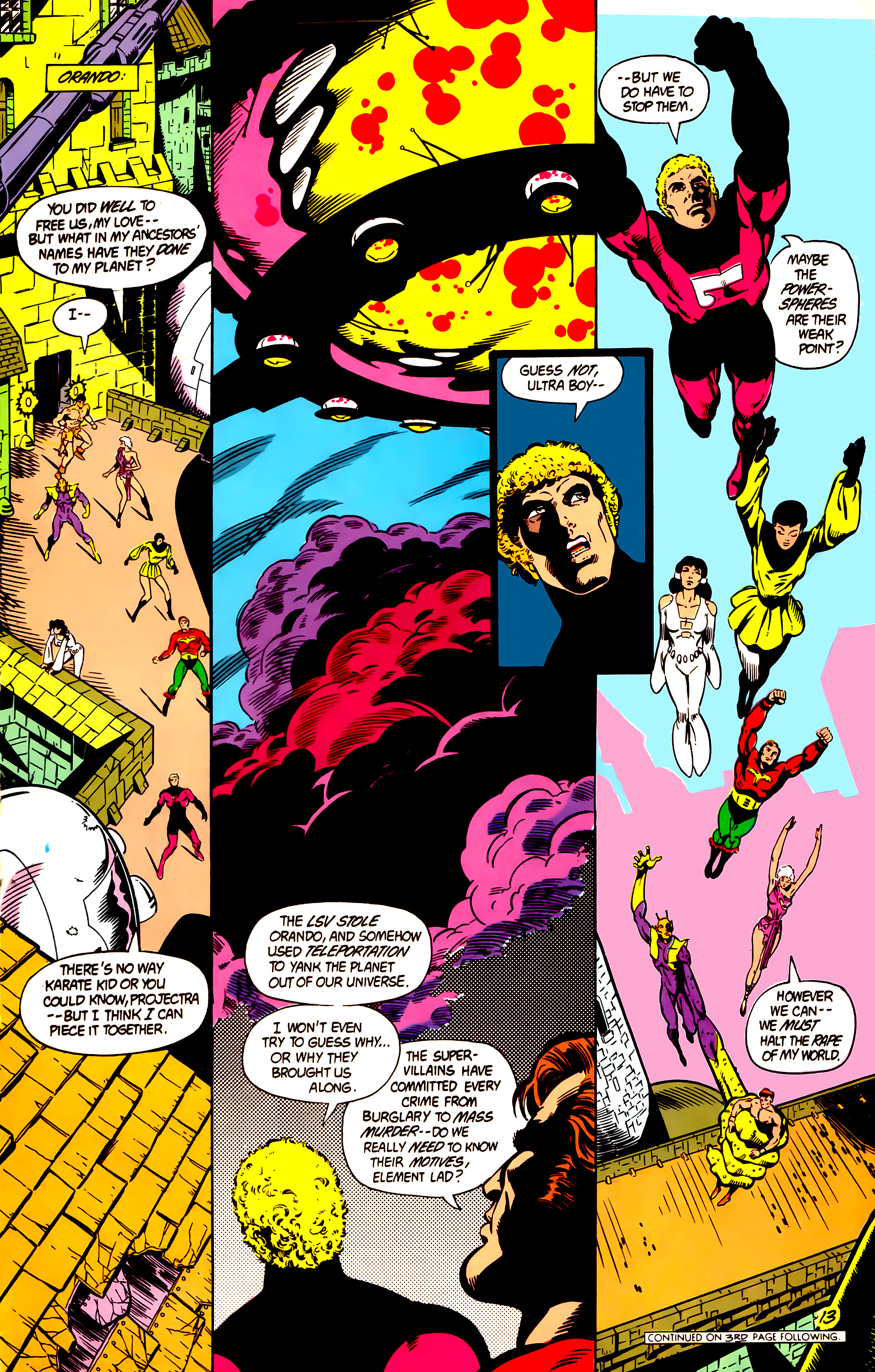 Legion of Super-Heroes (1984) 4 Page 14