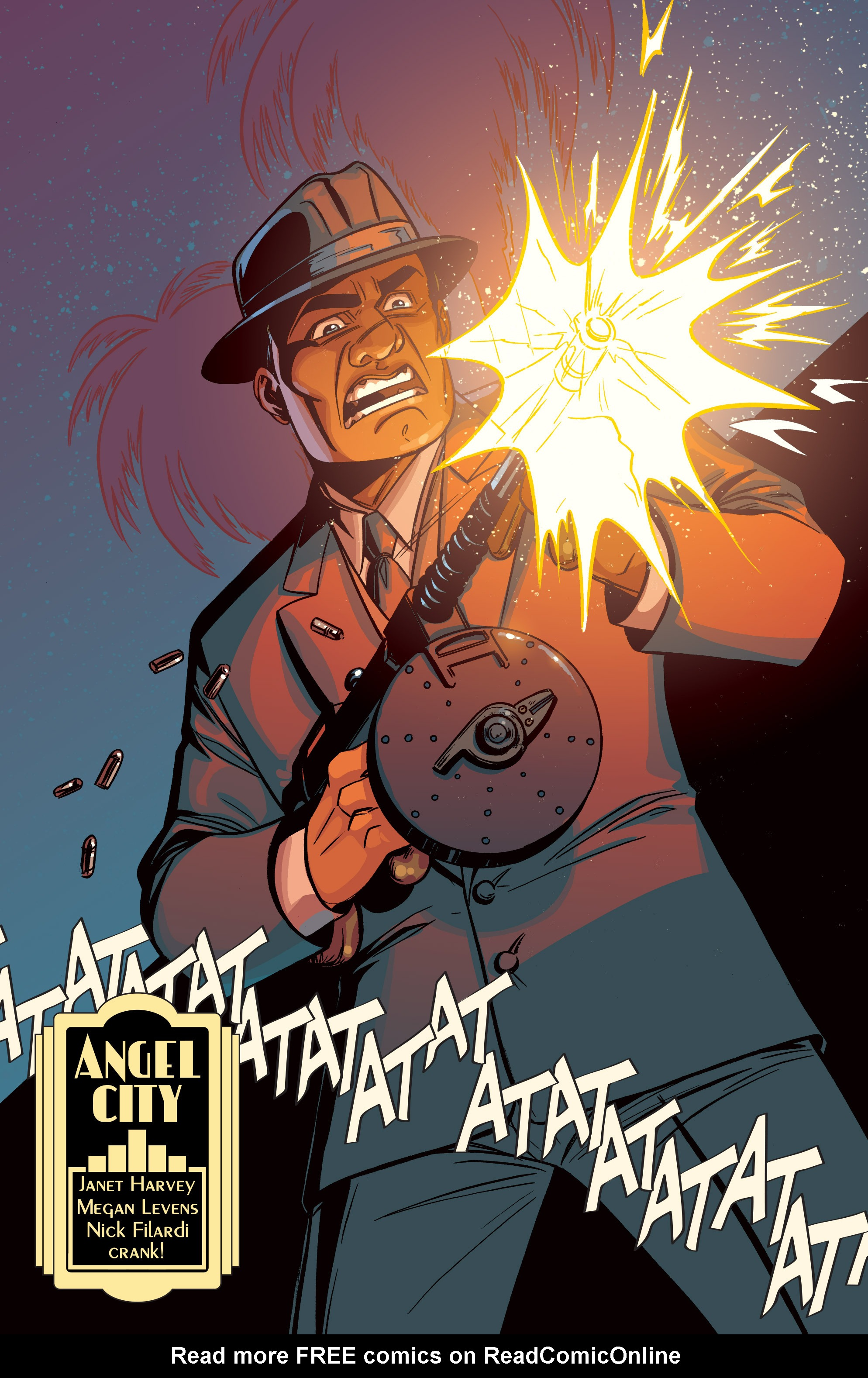 Read online Angel City comic -  Issue #6 - 4