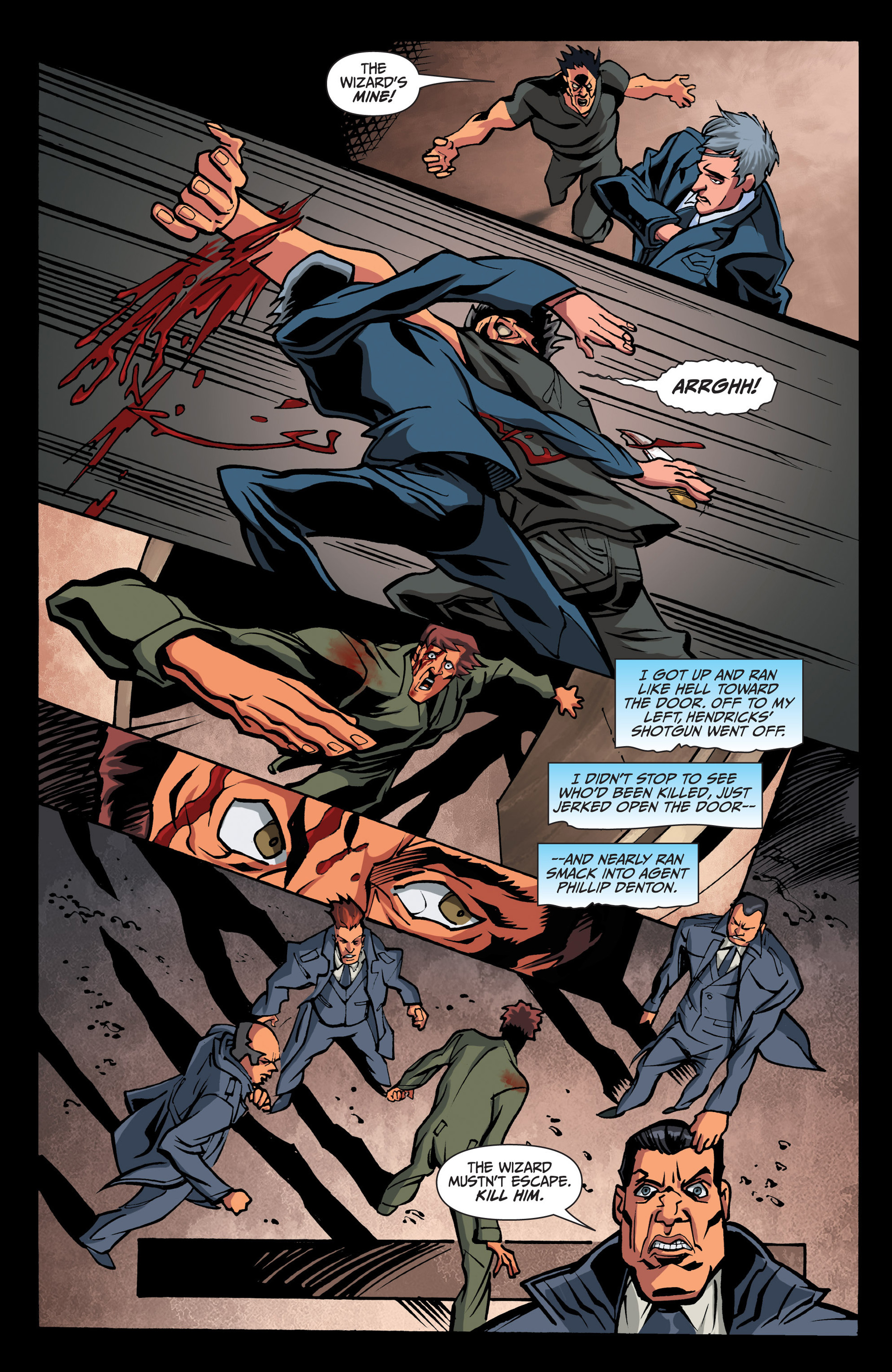 Read online Jim Butcher's The Dresden Files: Fool Moon comic -  Issue #7 - 6