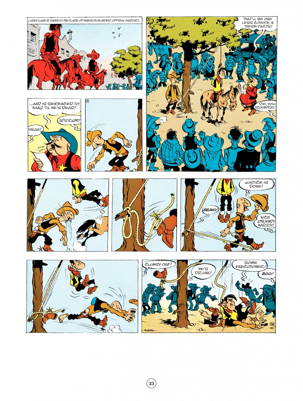 Read online A Lucky Luke Adventure comic -  Issue #48 - 33