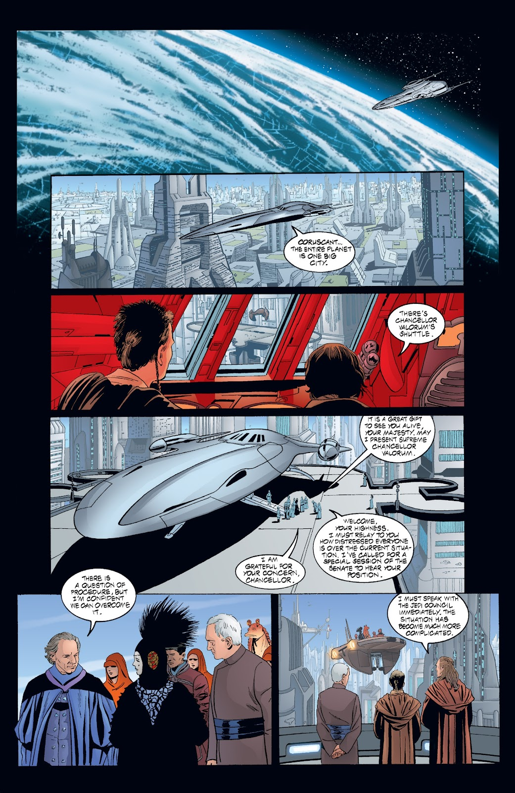 Read online Star Wars Legends: Rise of the Sith - Epic Collection comic -  Issue # TPB 2 (Part 3) - 100