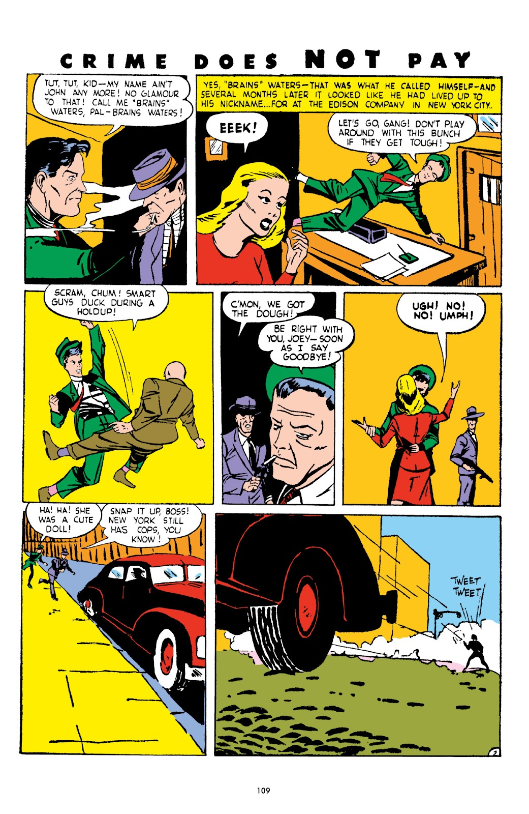 Read online Crime Does Not Pay Archives comic -  Issue # TPB 3 (Part 2) - 9