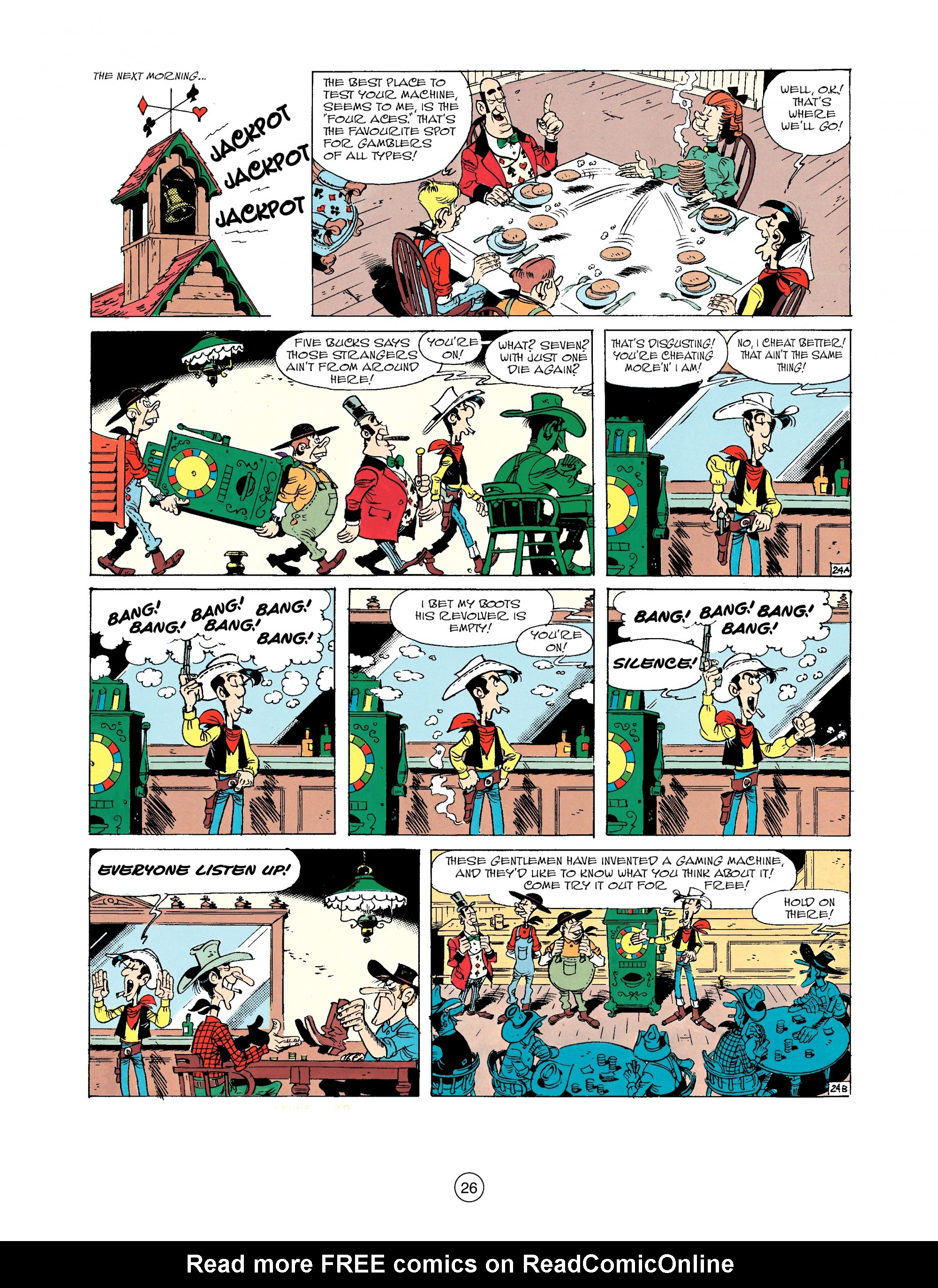 Read online A Lucky Luke Adventure comic -  Issue #33 - 26