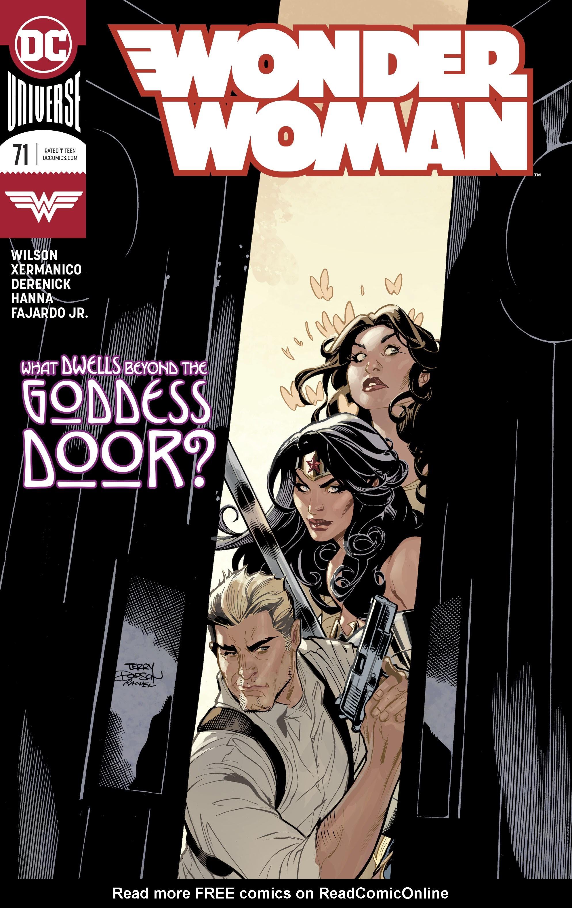 Wonder Woman (2016) 71 Page 1