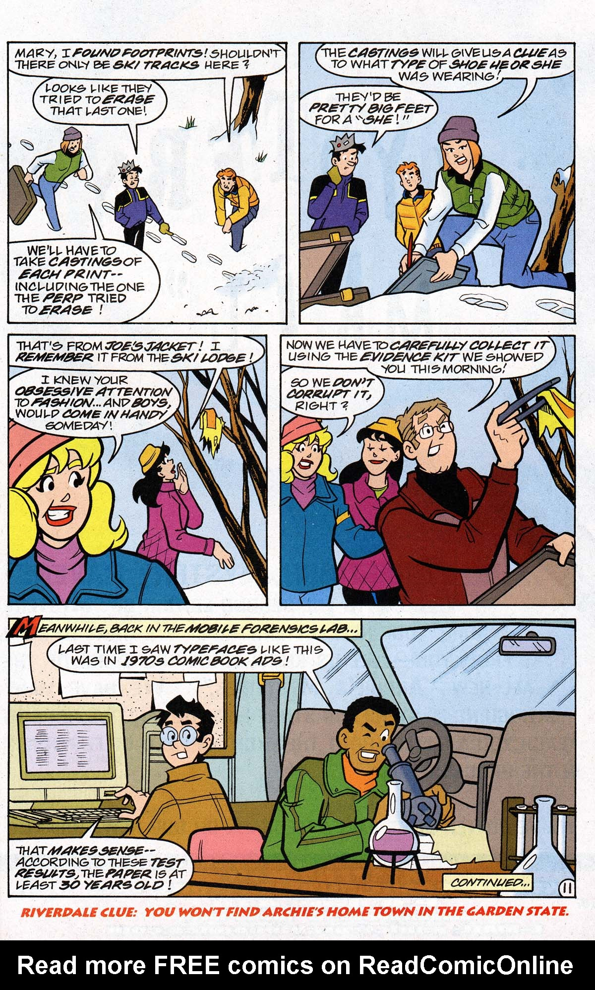 Read online Archie's Weird Mysteries comic -  Issue #26 - 14