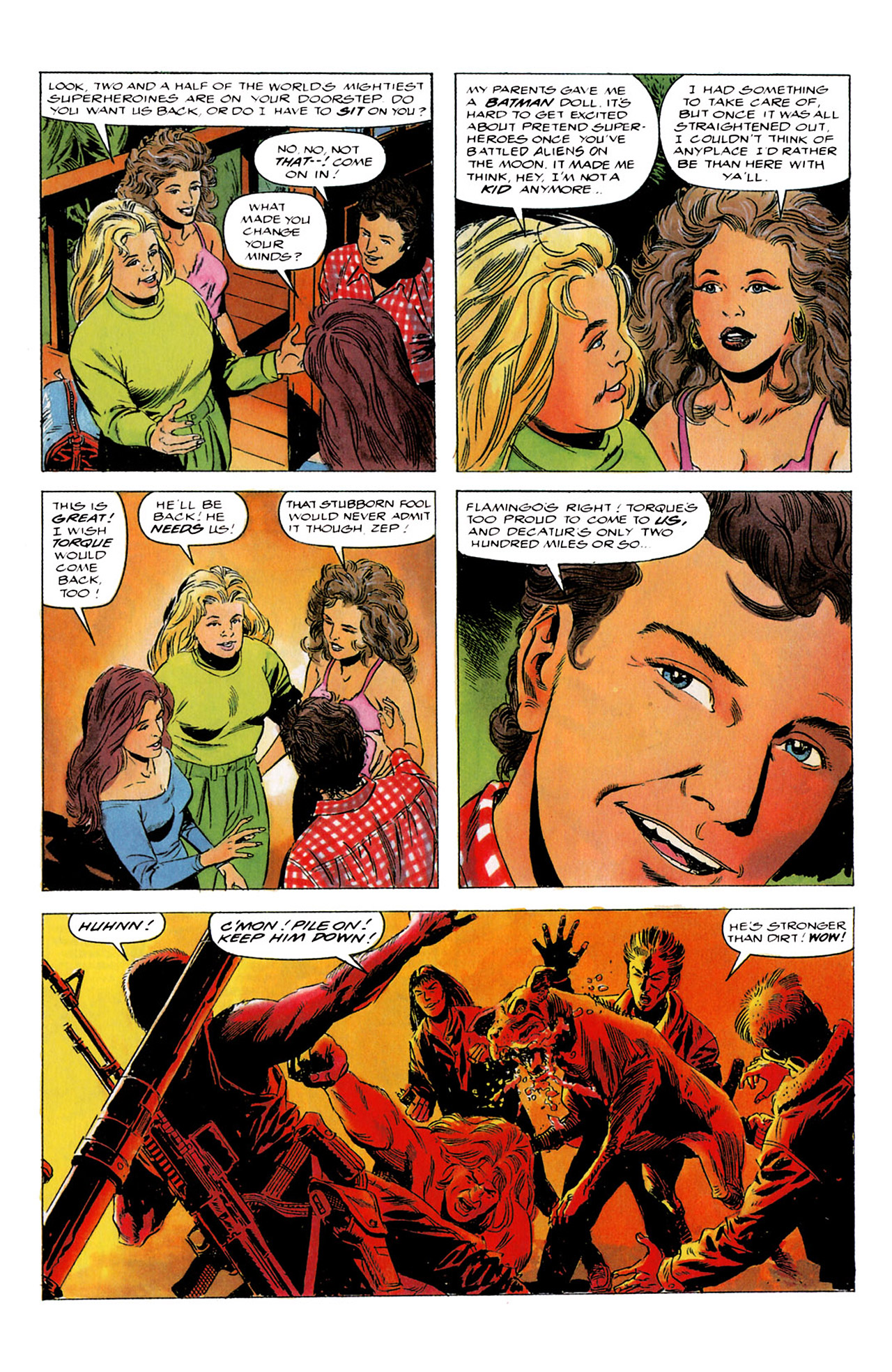 Read online Harbinger (1992) comic -  Issue #4 - 15