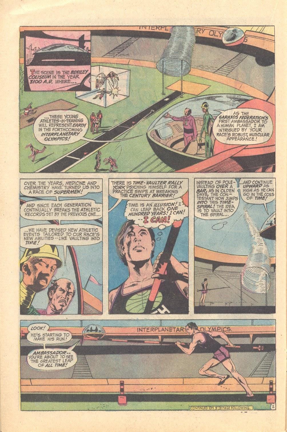 Read online Strange Sports Stories (1973) comic -  Issue #3 - 13