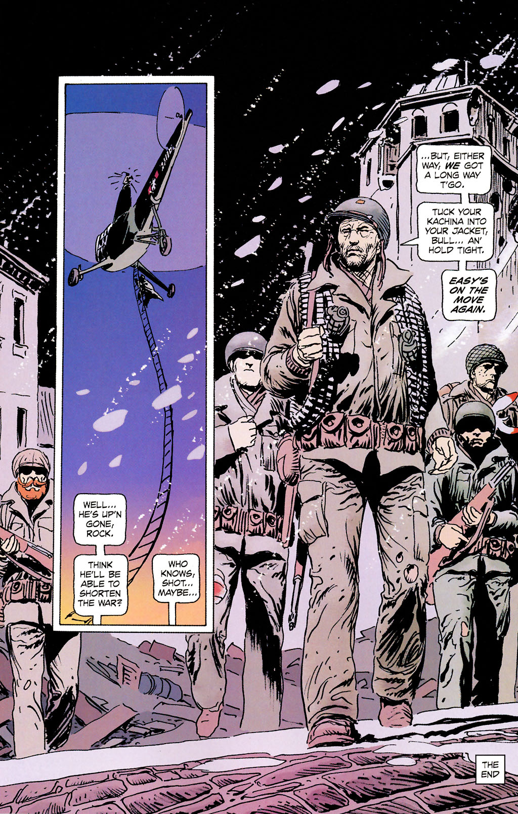 Read online Sgt. Rock: The Prophecy comic -  Issue #6 - 23