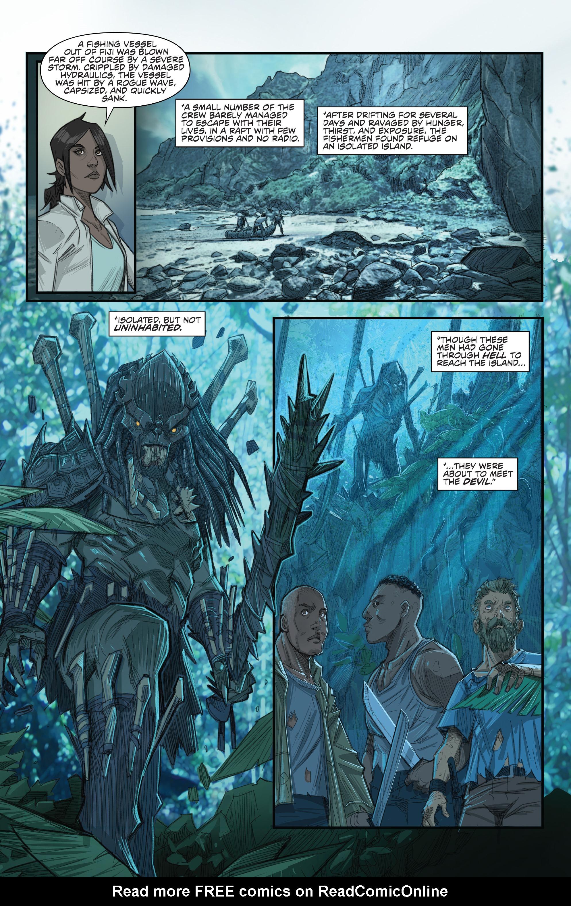 Read online Predator: Hunters comic -  Issue #2 - 10