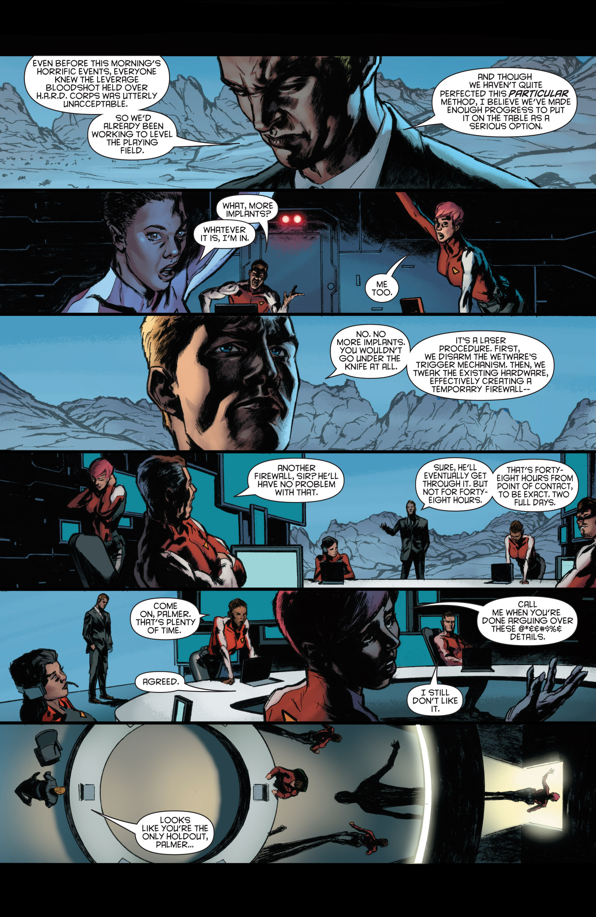 Read online Bloodshot and H.A.R.D.Corps comic -  Issue #22 - 10