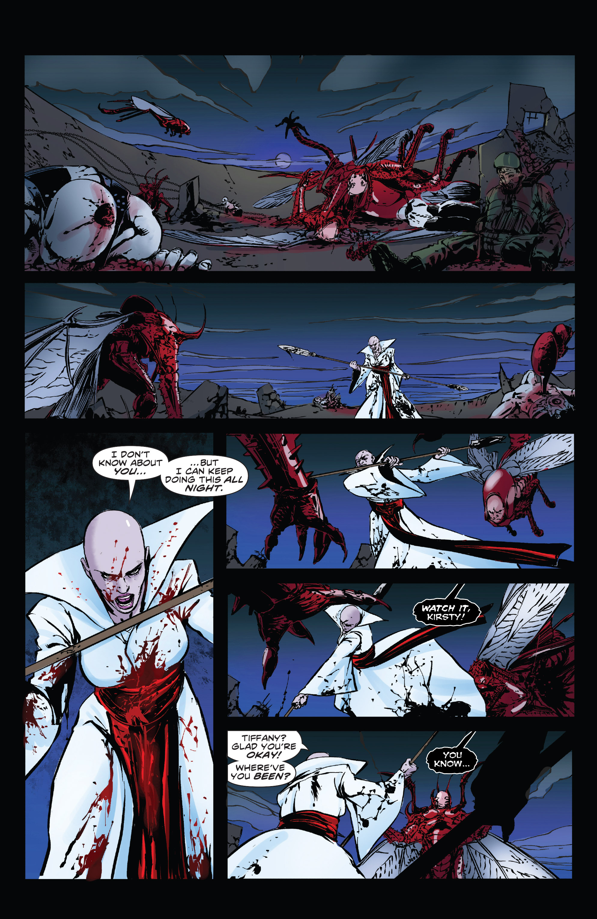 Read online Clive Barker's Hellraiser: The Dark Watch comic -  Issue # TPB 3 - 95