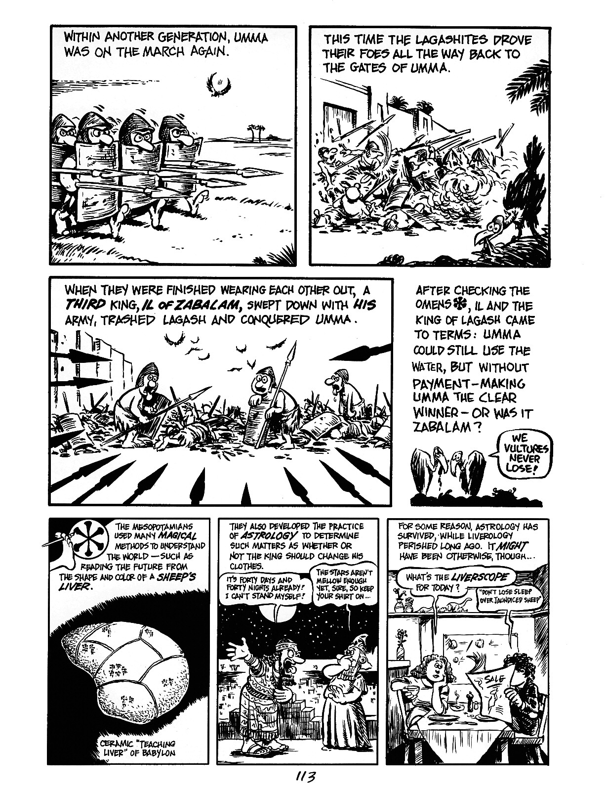Read online The Cartoon History of the Universe comic -  Issue #3 - 13