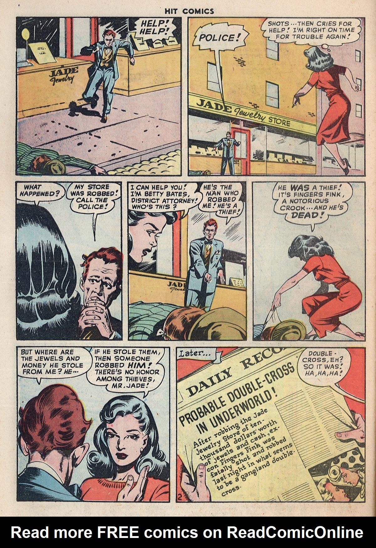 Read online Hit Comics comic -  Issue #55 - 40