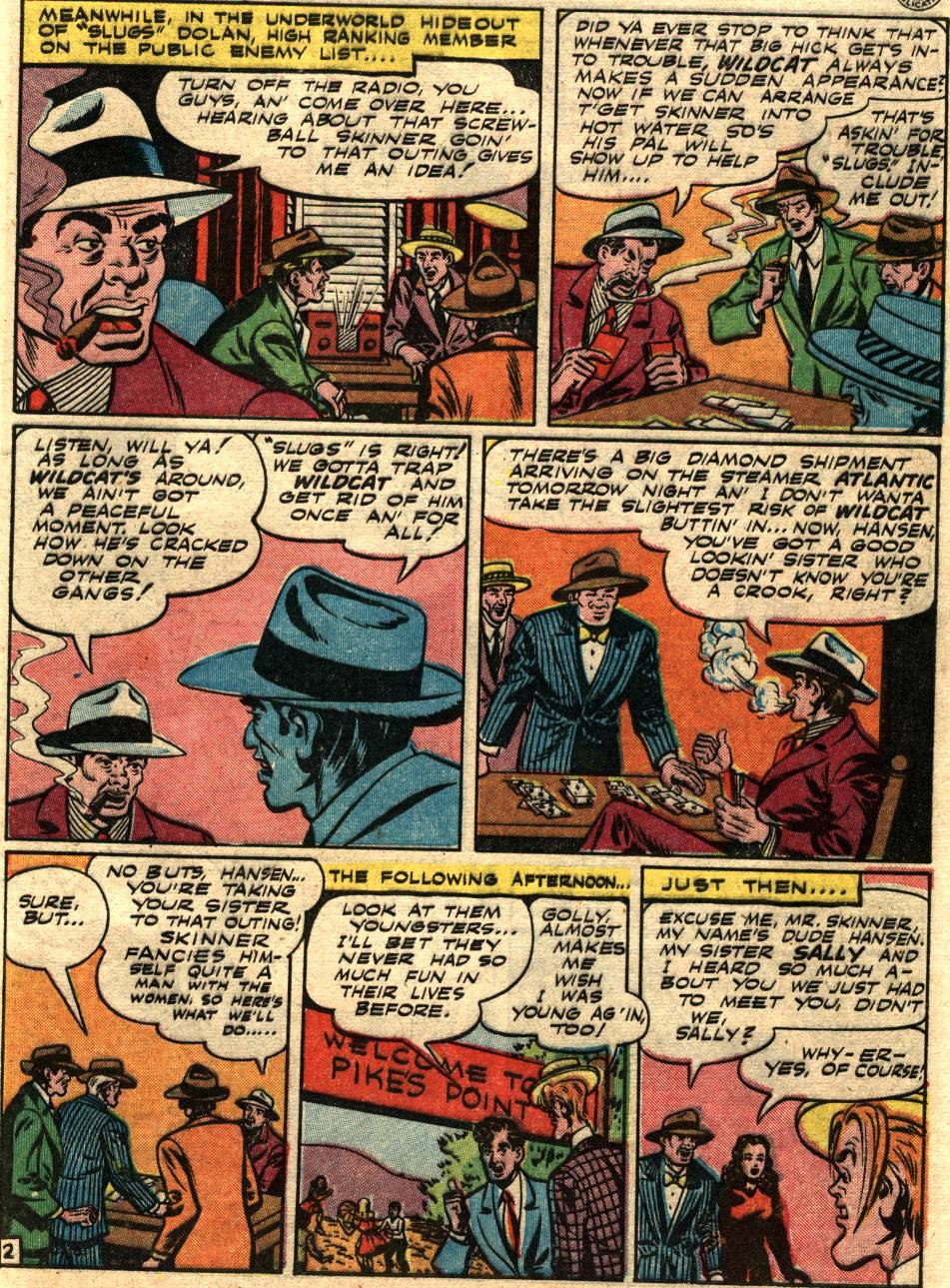 Read online Sensation (Mystery) Comics comic -  Issue #58 - 43