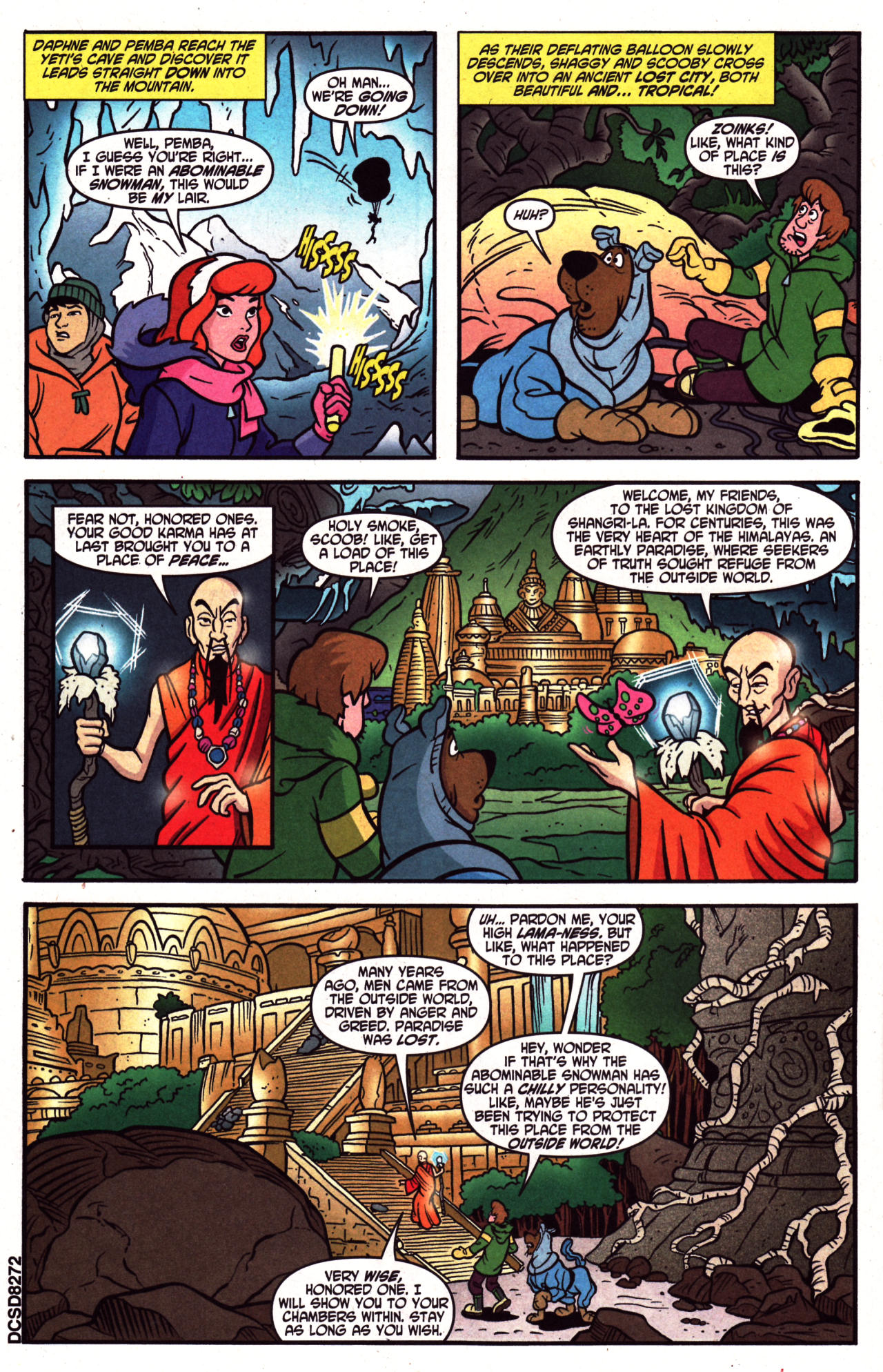 Read online Scooby-Doo (1997) comic -  Issue #124 - 14